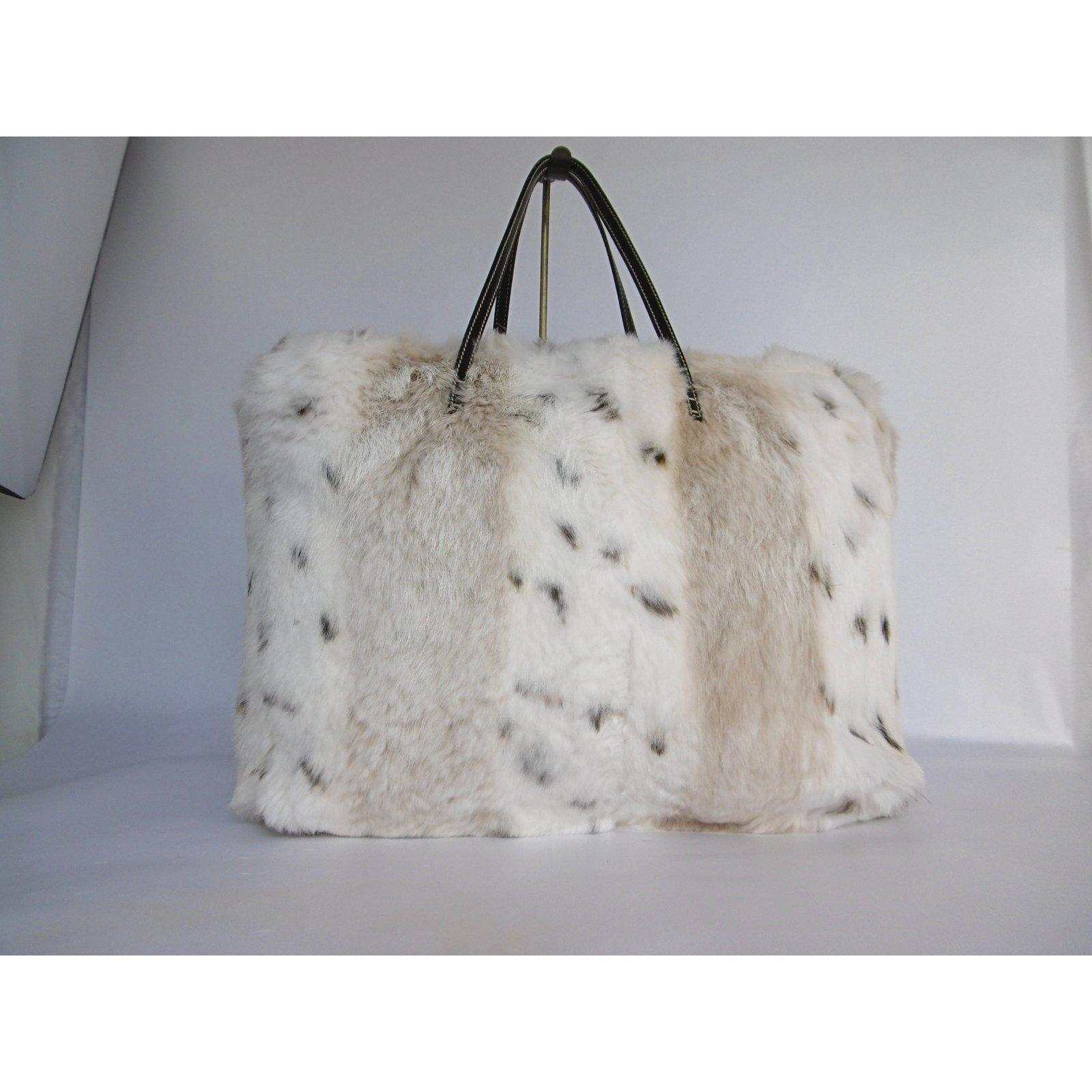 d56d5058c6b Fendi Fendi Fur Tote Bag Handbags Leather,Fur Multiple colors ref.83512 - Joli  Closet