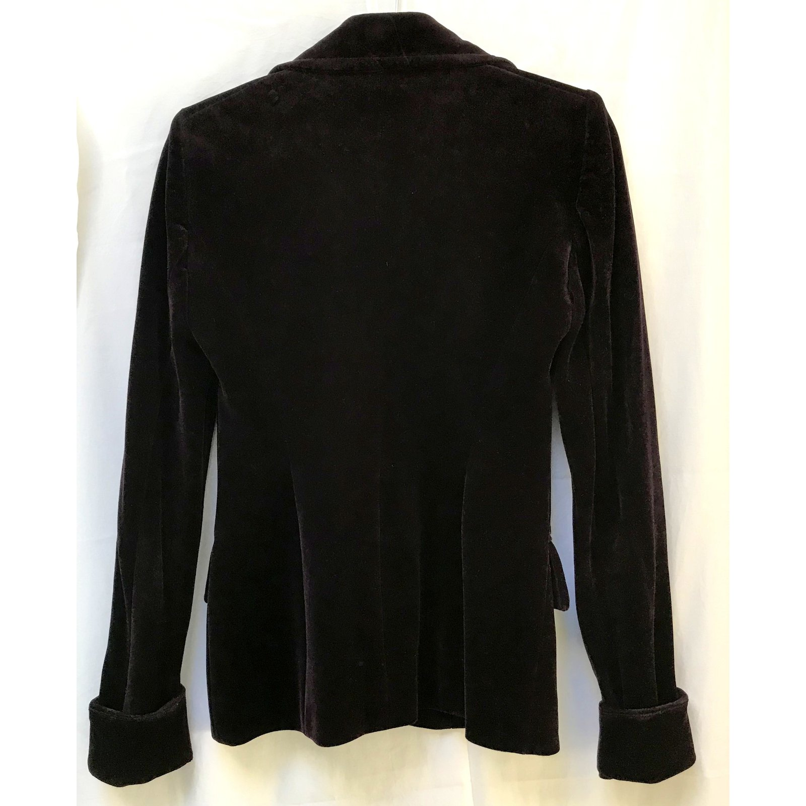 4a7fe24b7f4 Yves Saint Laurent Jacket Jackets Velvet Prune ref.84219 - Joli Closet