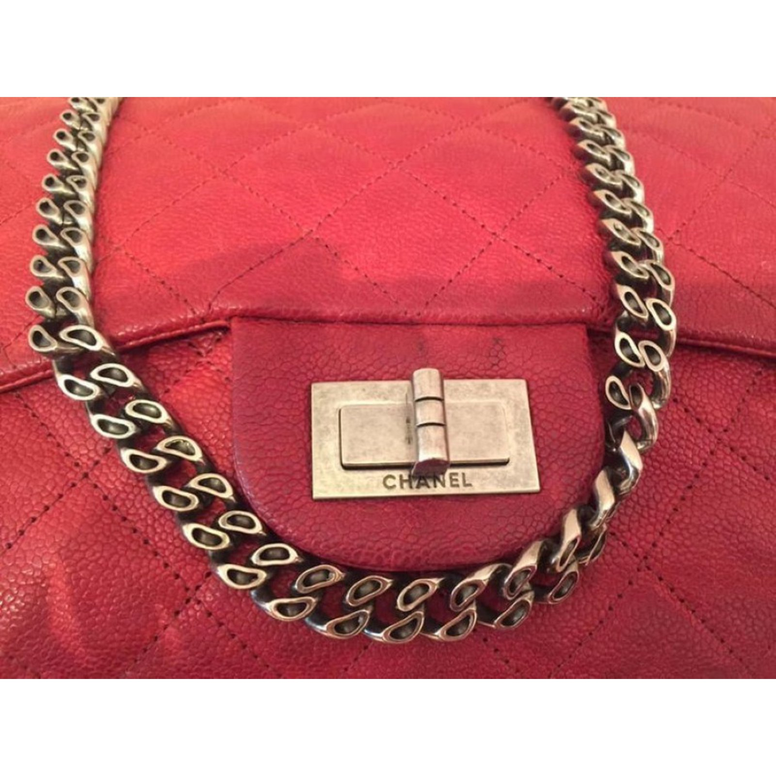 0c9279413a97 Facebook · Pin This. Chanel 2.55 Bag Handbags Leather Other ref.84298