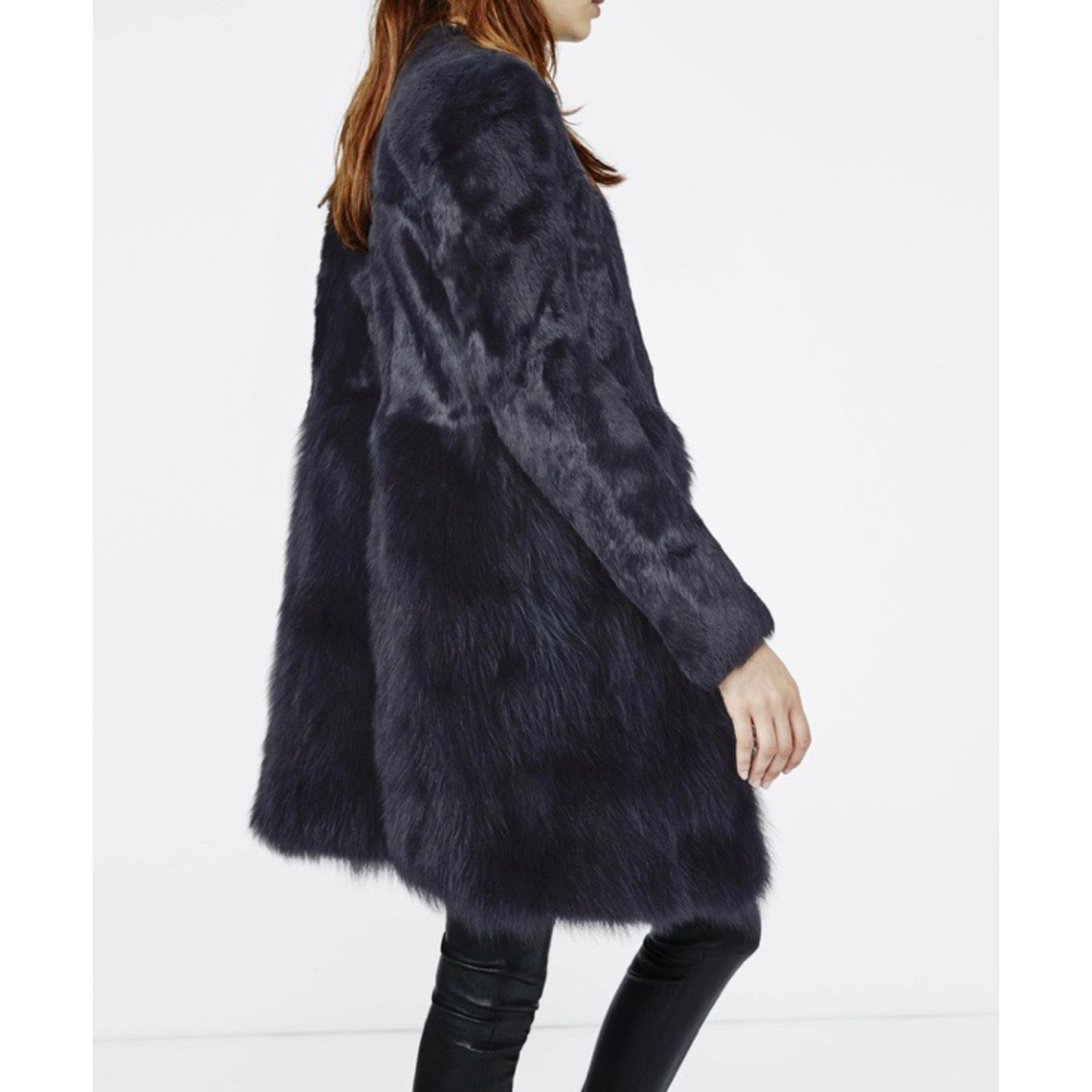 manteau maje renard lapin
