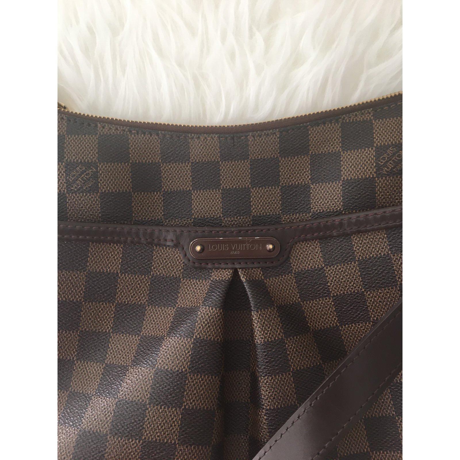 Louis Vuitton Bloomsbury PM Damier Handbags Leather Brown ref.85210 - Joli  Closet 51cf43923