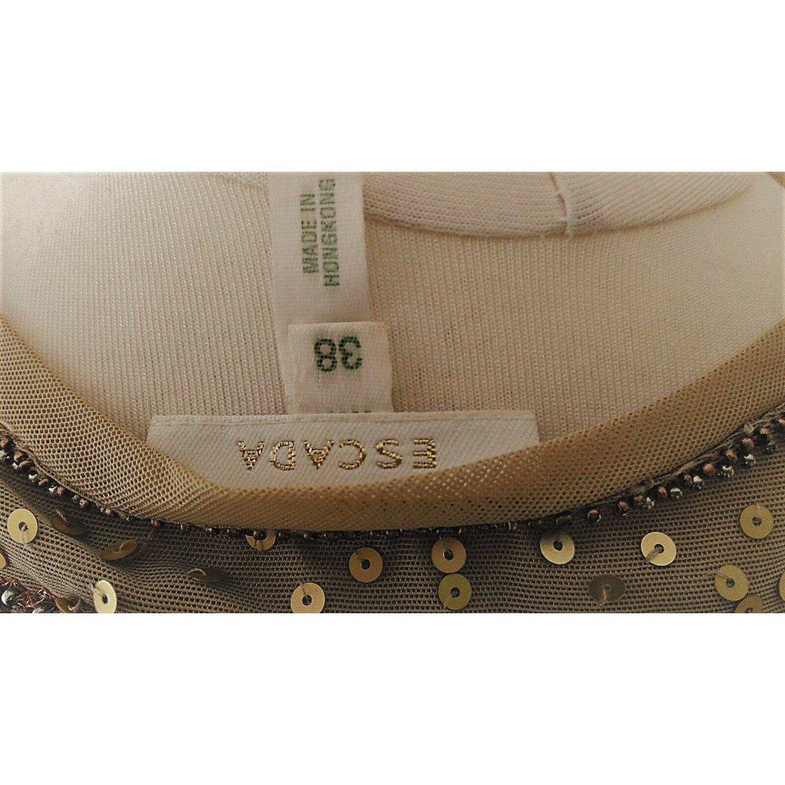 04d3bf1f1b3334 Escada Tops Tops Silk Silvery