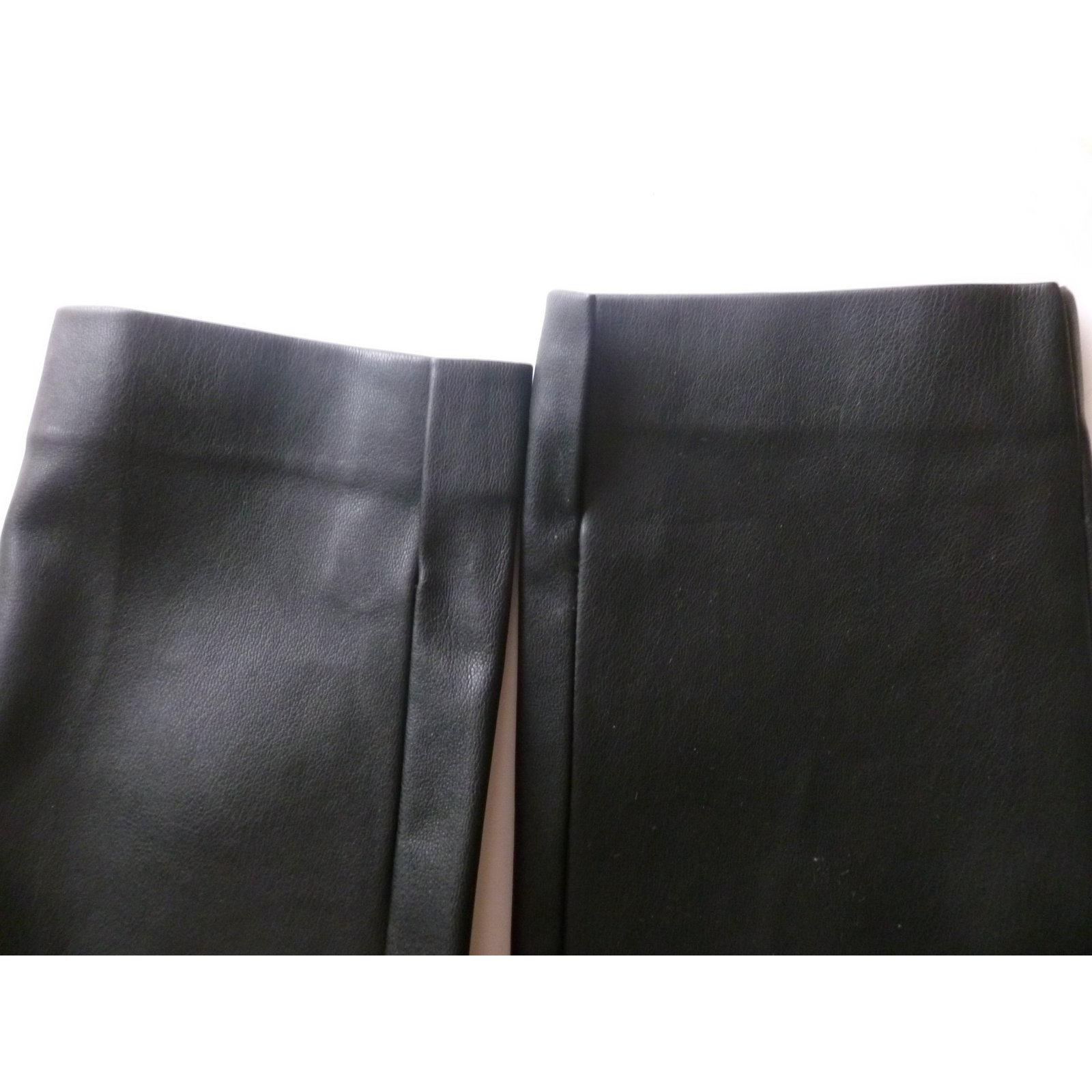 8cc2ec13 Zara Faux leather biker pants Pants, leggings Polyurethane Black ref.86235  - Joli Closet