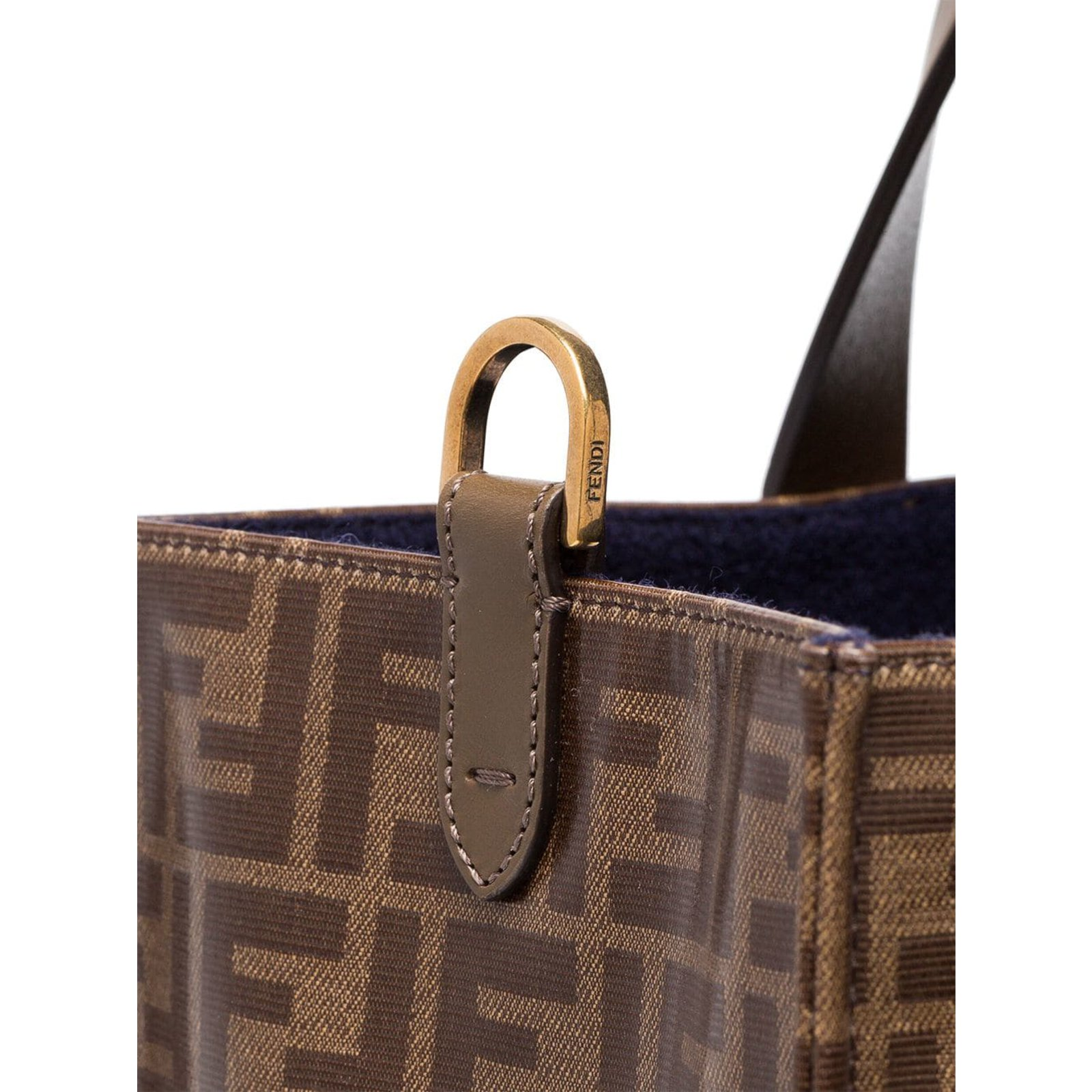 23ee0a4a93 Fendi Fendi Mania brown logo print tote bag Handbags Other Other ref.86523  - Joli Closet