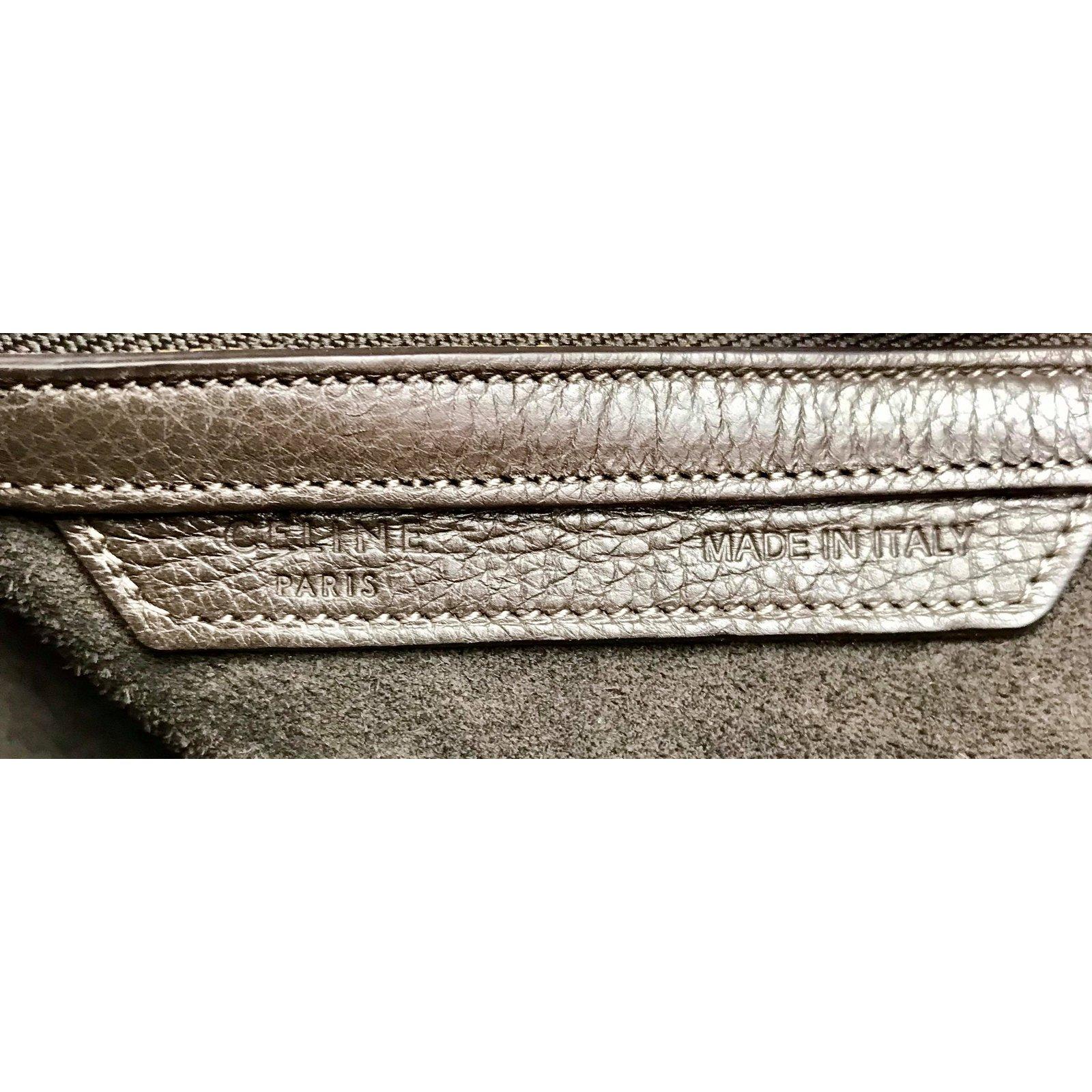 f8d2f2f411a1 Sacs à main Céline Phantom en cuir marron clair Cuir Marron ref.86811 - Joli  Closet