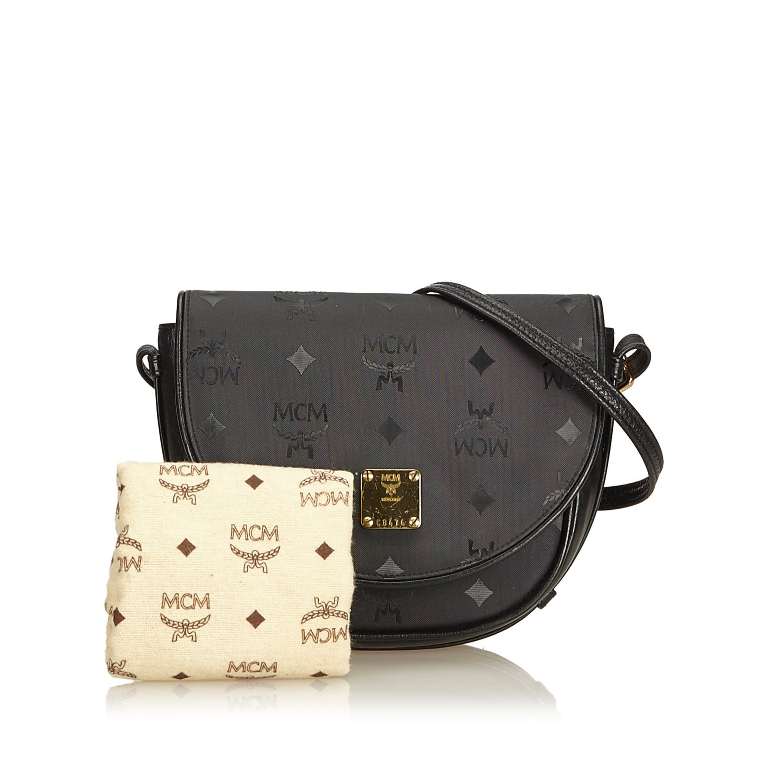 80a6099d9b MCM Visetos Canvas Crossbody Bag Handbags Leather,Other,Cloth,Cloth ...