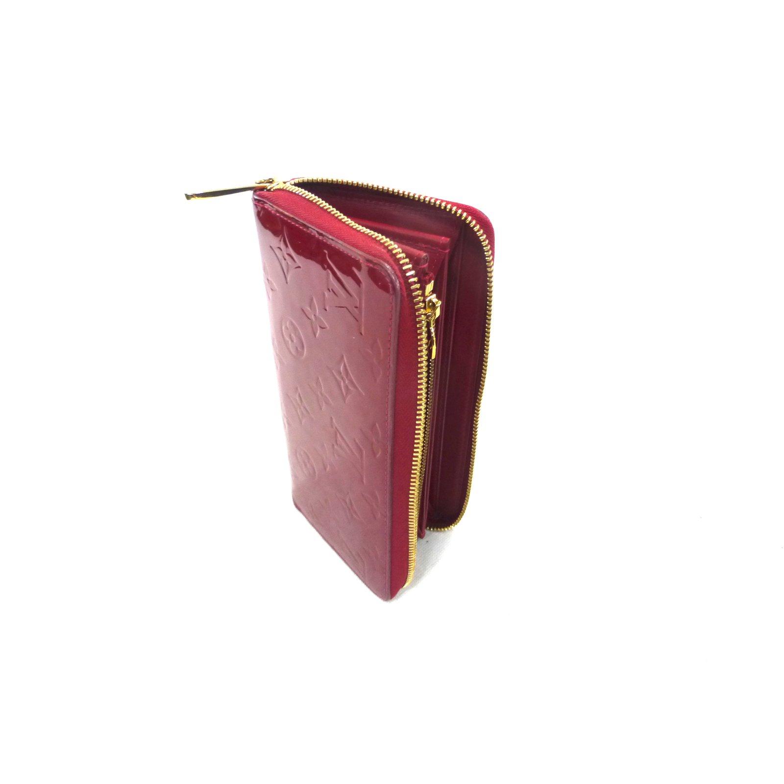 1db41c7cb2c Louis Vuitton Red zippy wallet Purses