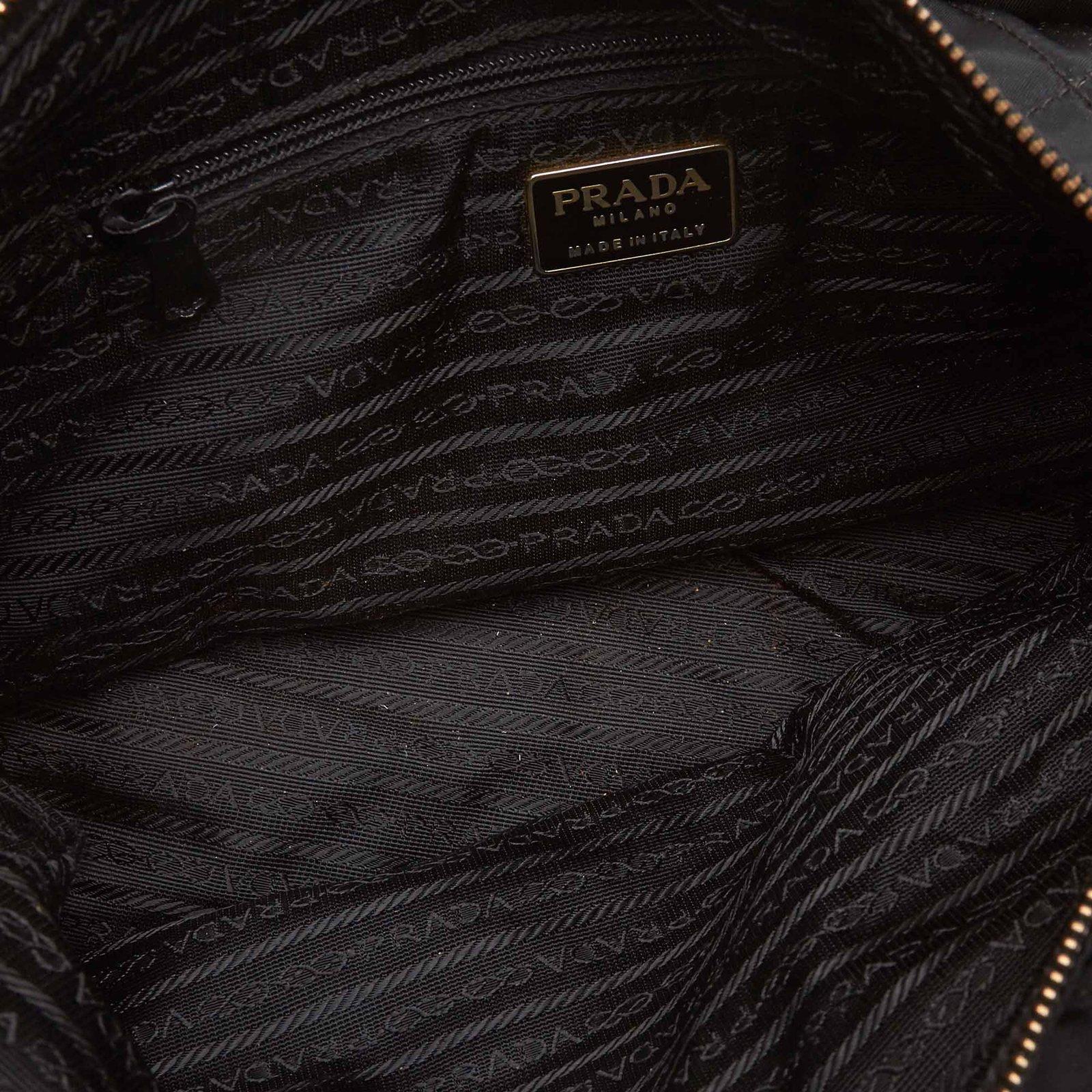 895a1f3fd42e Prada Quilted Nylon Chain Tote Bag Totes nylon