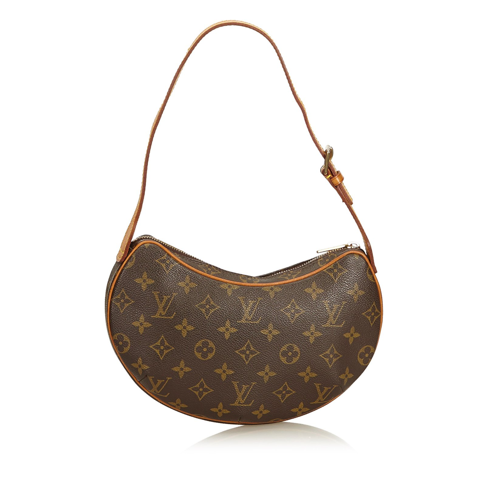 ce023827bfff Louis Vuitton Monogram Croissant PM Handbags Leather