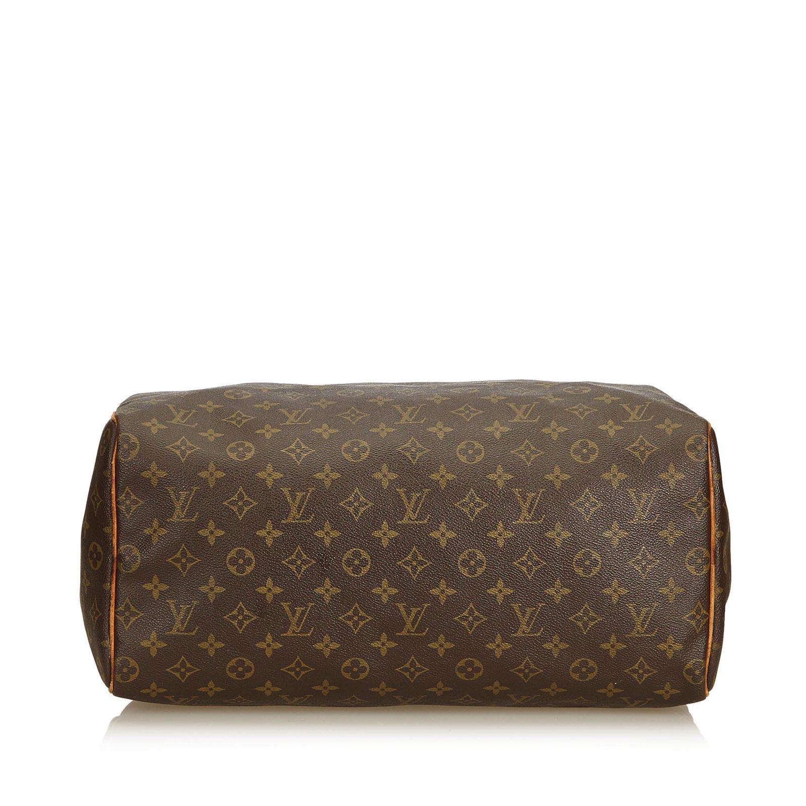 d4ea96ee7dd6 Louis Vuitton Monogram Speedy 40 Handbags Leather