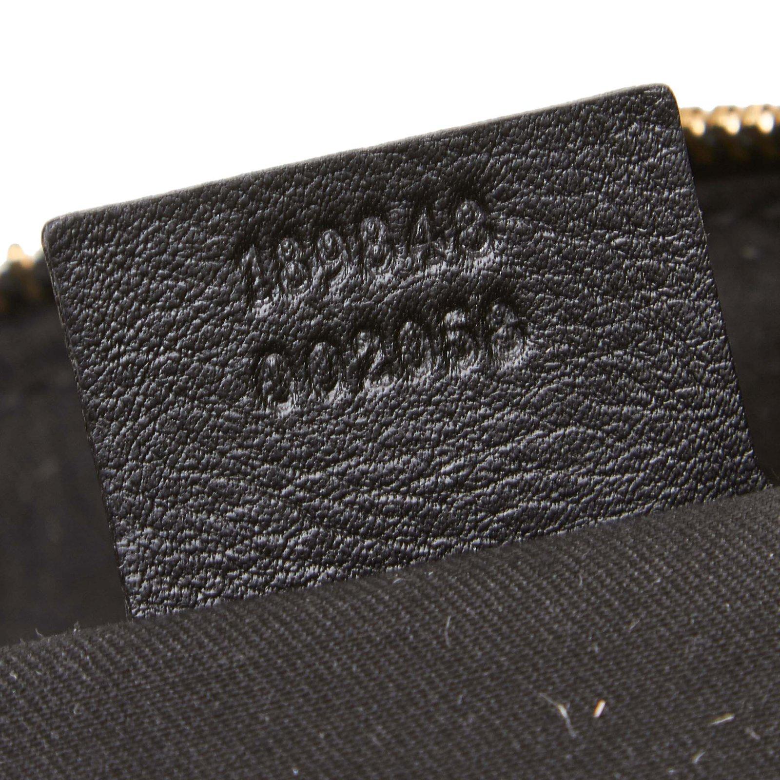 7a52ddb65ef2 Gucci Leather Sabrina Shoulder Bag Handbags Leather,Other Black ref.90304 -  Joli Closet