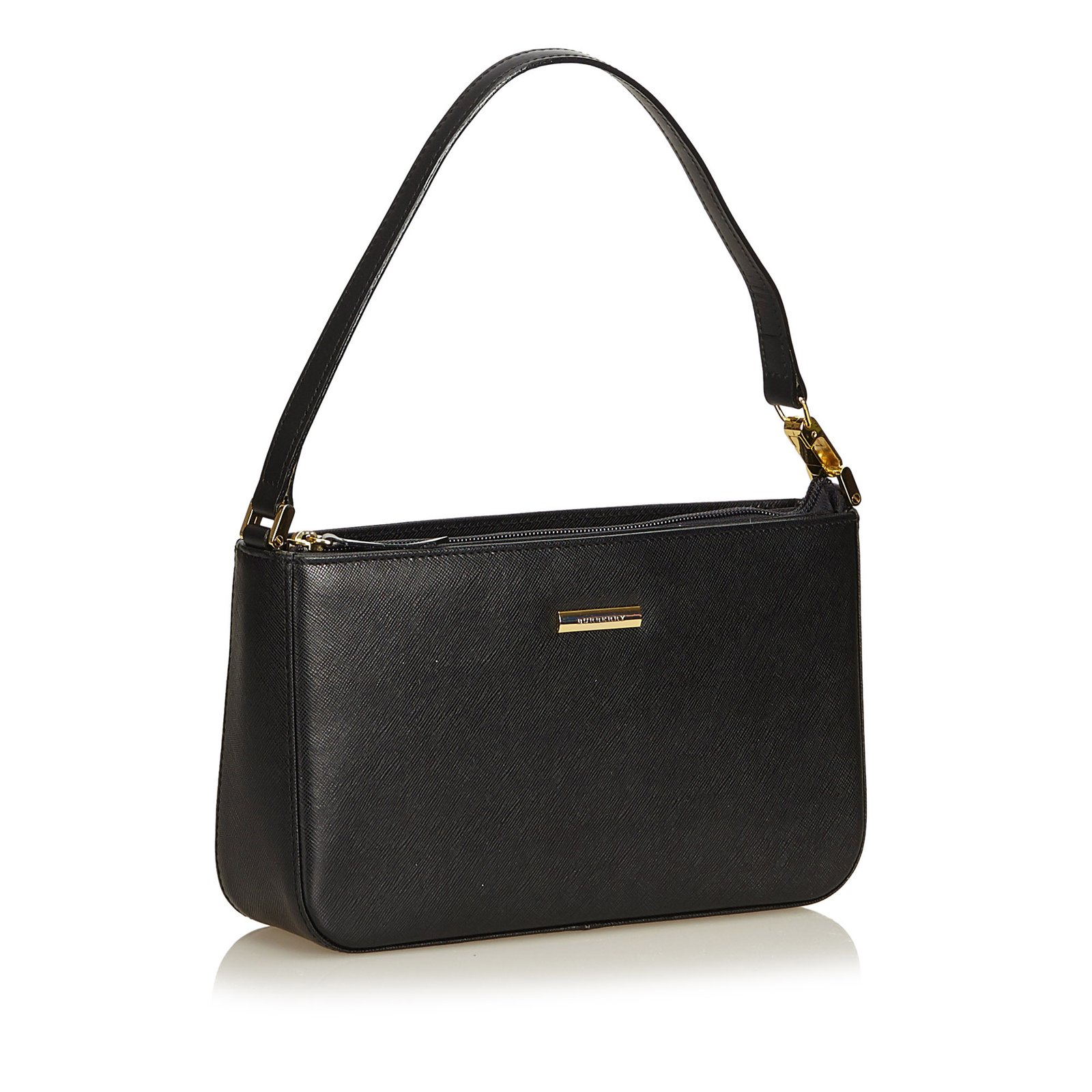 0ac6e900f107 Gallery Source · Burberry Leather Handbag Handbags Leather Other Black ref  91082