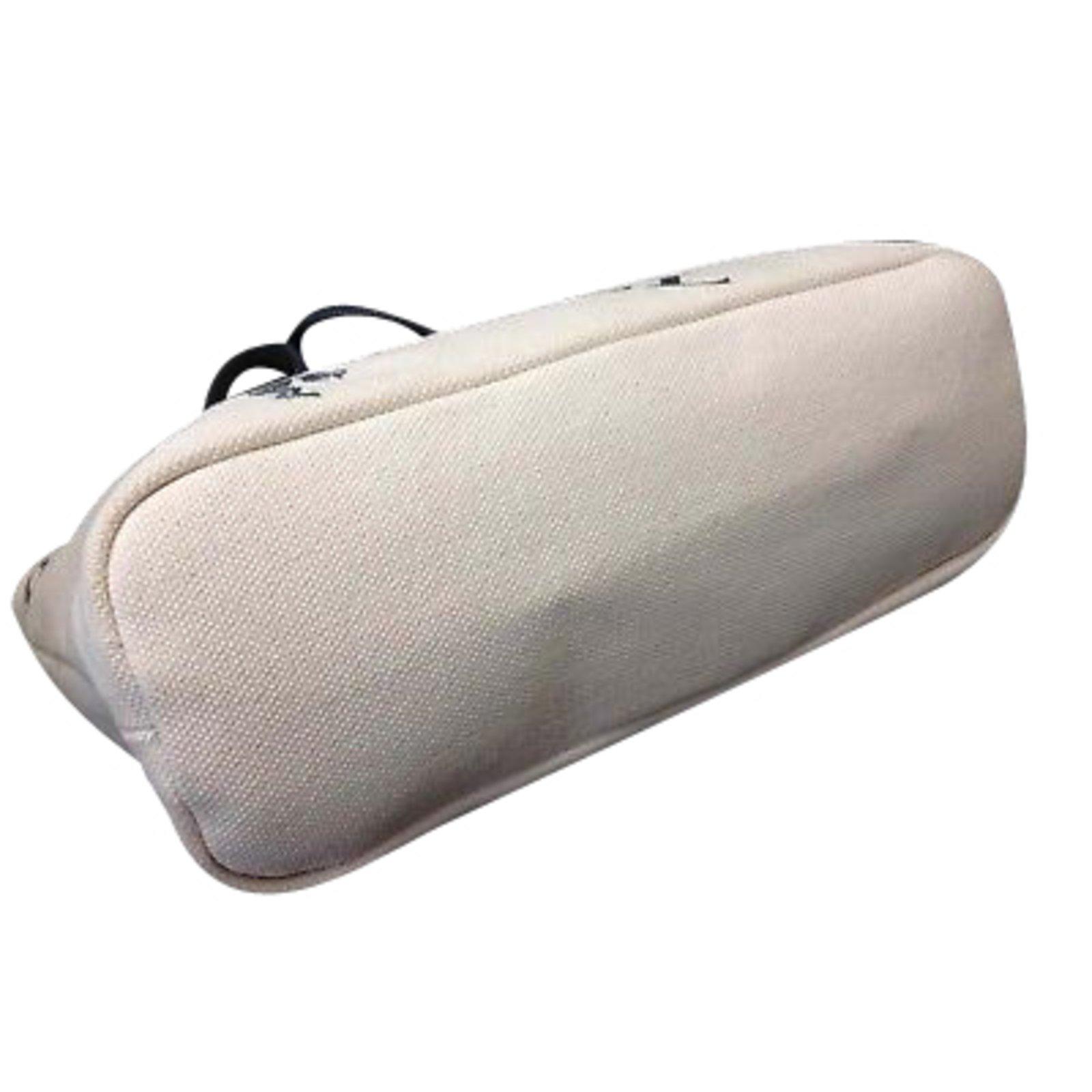 3fb027304e3c Facebook · Pin This. Burberry Blue Label Shoulder Bag Handbags Cotton Beige  ...