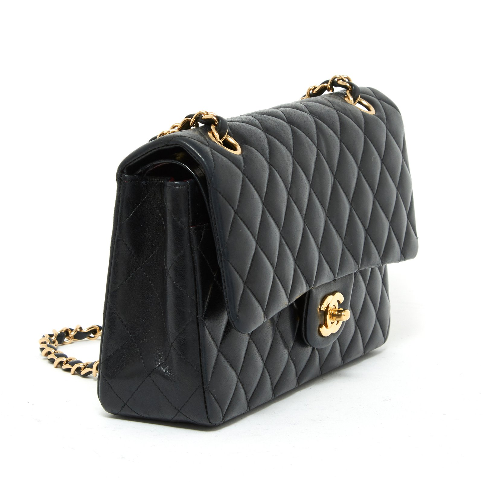 e8b880700b0c Chanel CHANEL TIMELESS CLASSIC 25 BLACK Handbags Leather Black ref.91263 -  Joli Closet