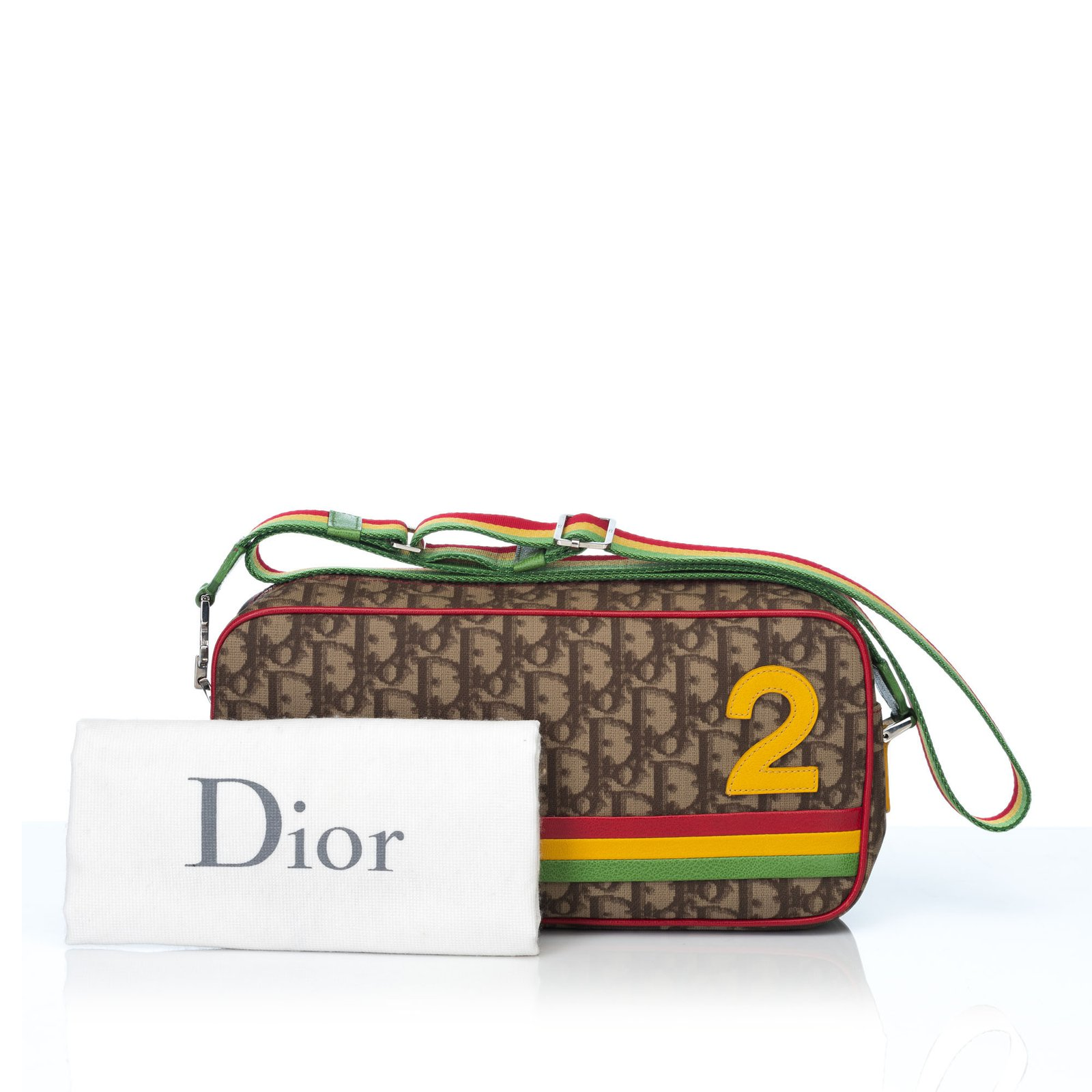 Dior Oblique Rasta Crossbody Bag Handbags Leather 4dbbf75140a19
