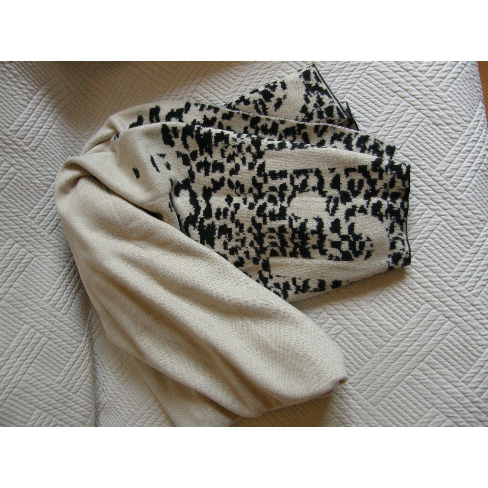 d3148cb27f Jo Echarpes Cachemire,Laine Noir,Multicolore,Beige ref.93396 - Joli Closet