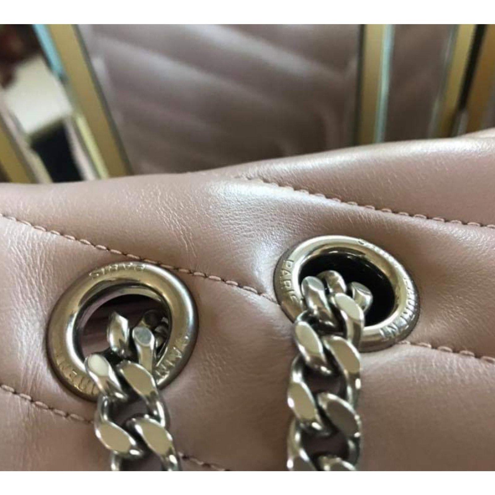 3fdc1f0ffc4 Saint Laurent Lou lou medium size Handbags Leather Pink ref.93795 - Joli  Closet