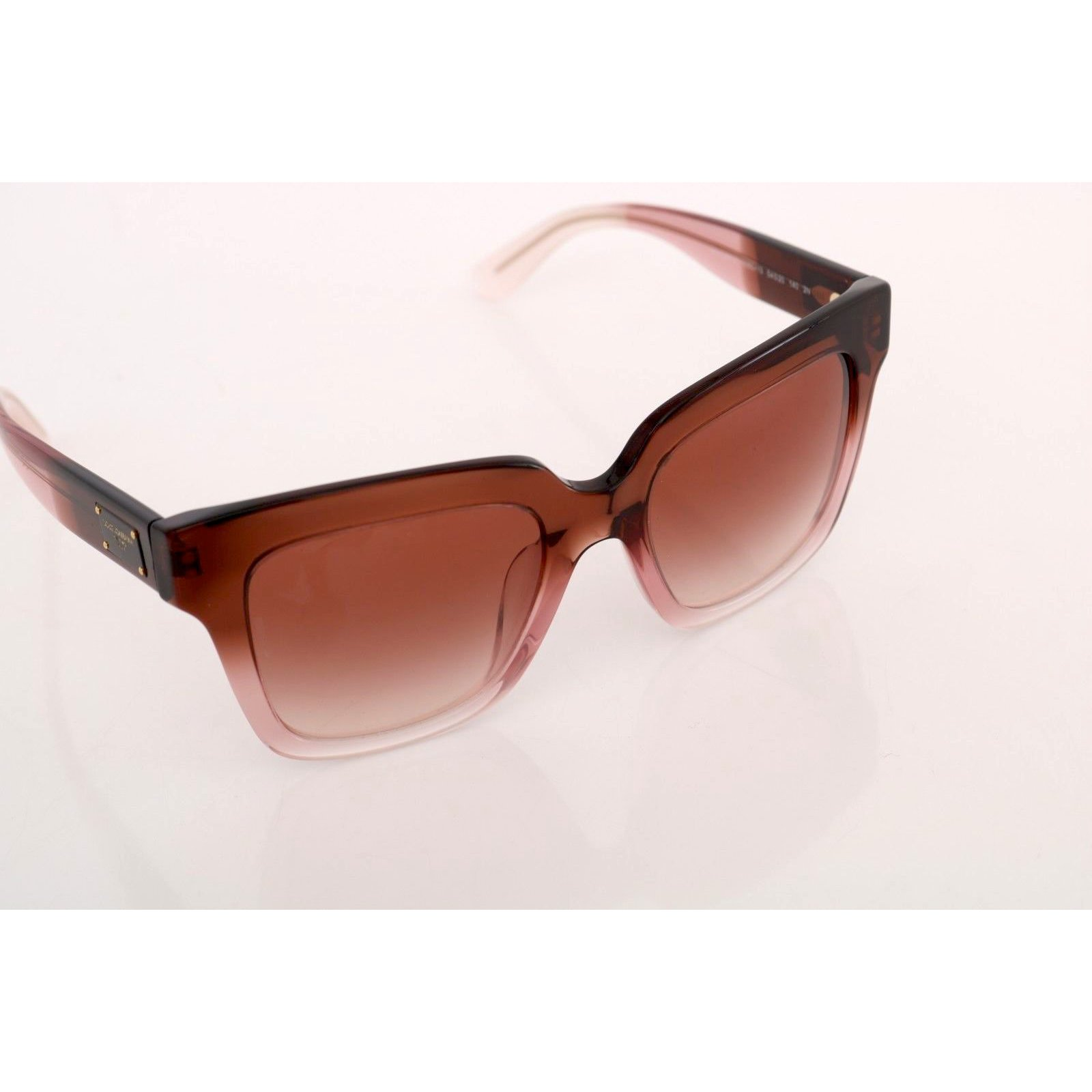 bd86d63590e1 Dolce & Gabbana DOLCE & GABBANA Sunglasses DG4286-F 3060/13 Pink Square Logo  Gradient Sunglasses Other Brown ref.93796 - Joli Closet