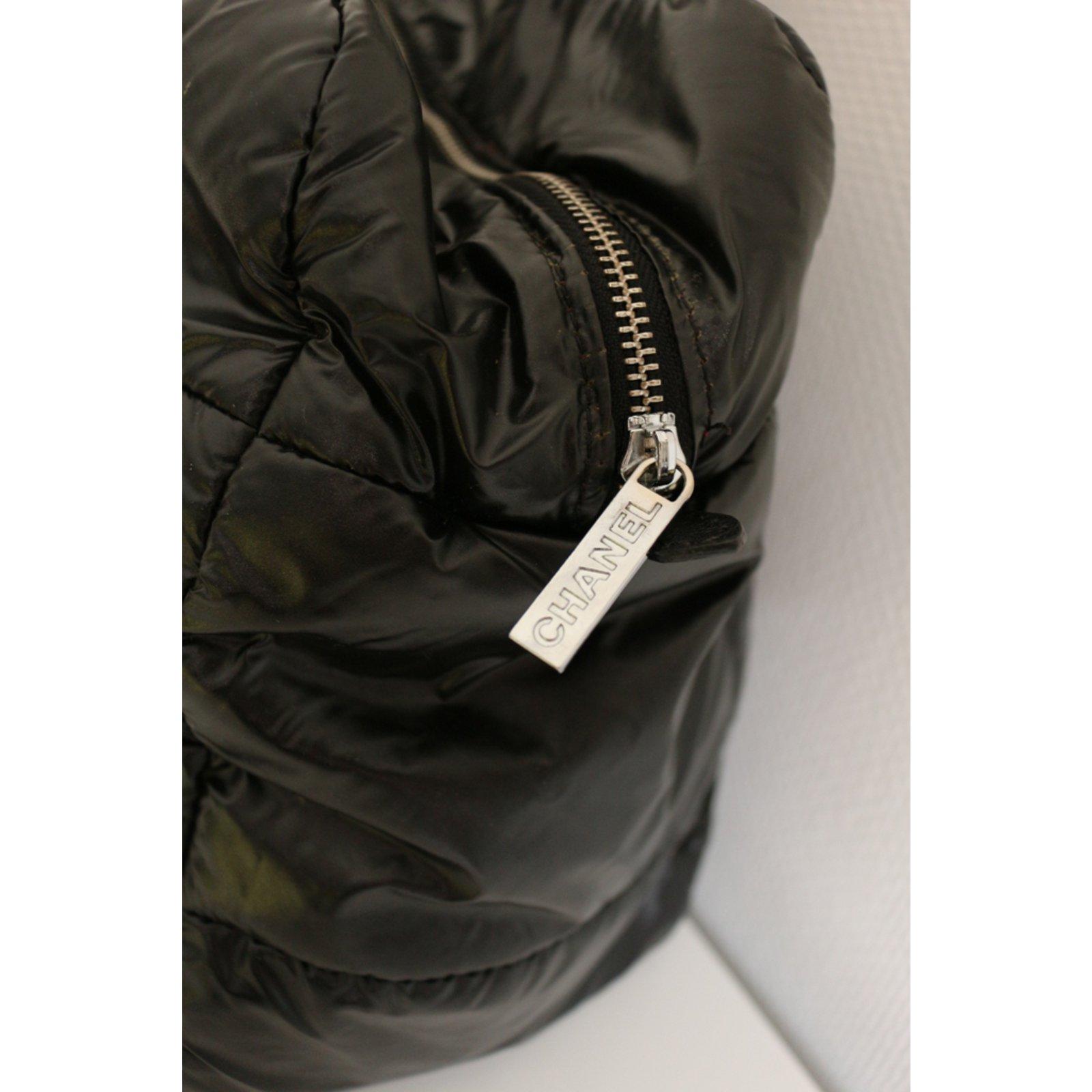 062d8dfe5c36 Chanel Coco Cocoon Totes Synthetic Black ref.98560 - Joli Closet