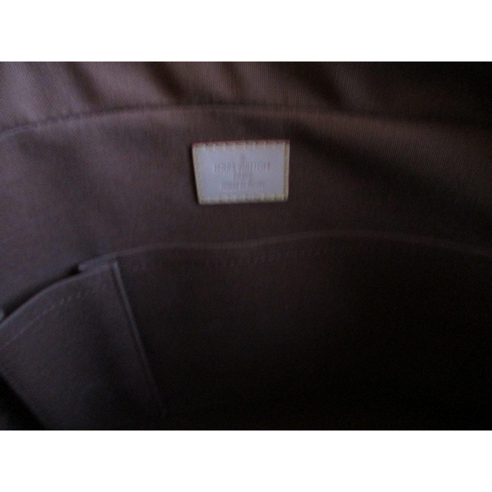 7a53684fc6cc Sacs à main Louis Vuitton Sac, porte document, cartable, sac de voyage,  laptop case, Louis Vuitton Cuir,Toile Marron ref.98686 - Joli Closet