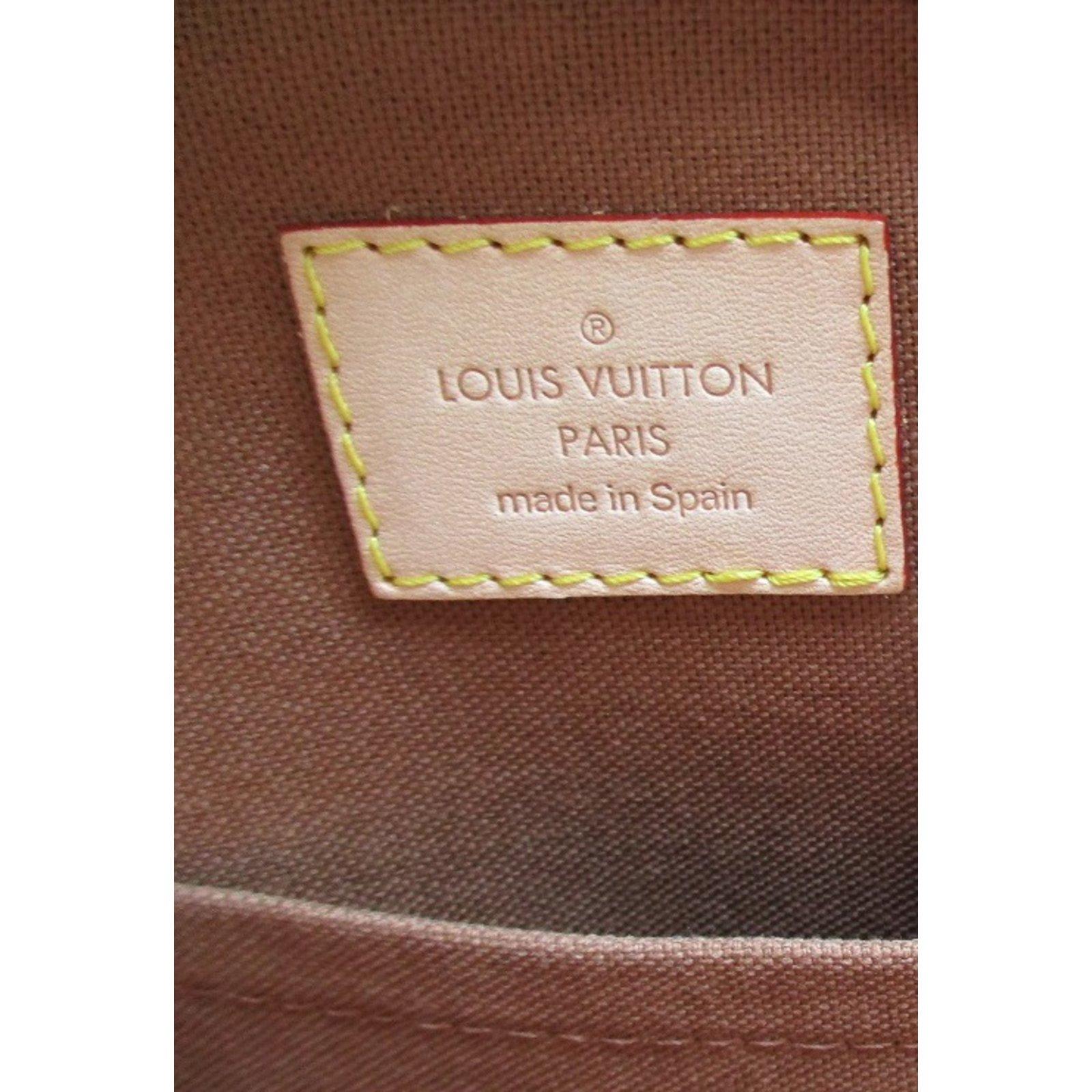 Sacs à main Louis Vuitton Sac, porte document, cartable, sac de voyage,  laptop case, Louis Vuitton Cuir,Toile Marron ref.98686 - Joli Closet 8160ab73d11