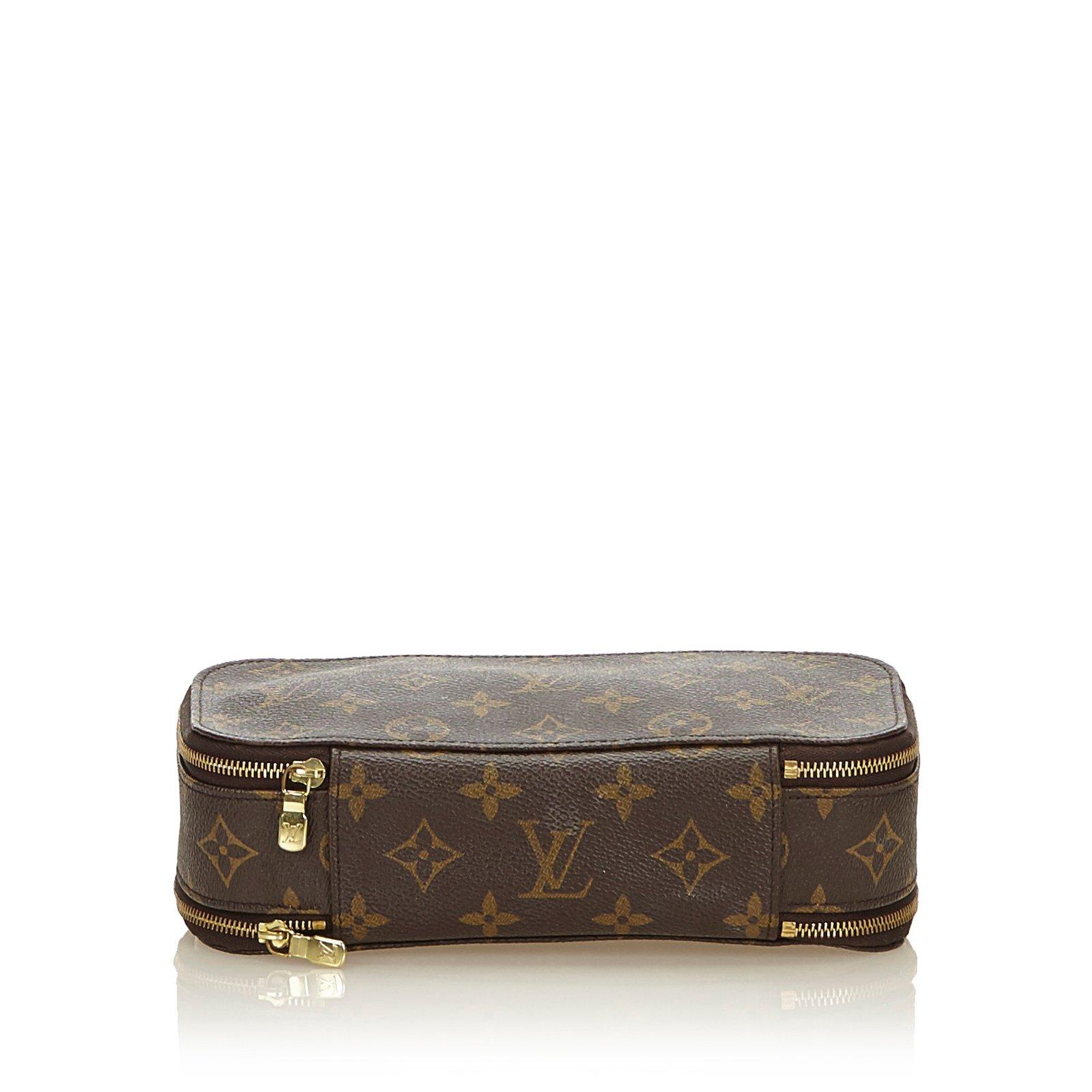 f02b28ab6c3c Louis Vuitton Monogram Trousse Blush PM Purses