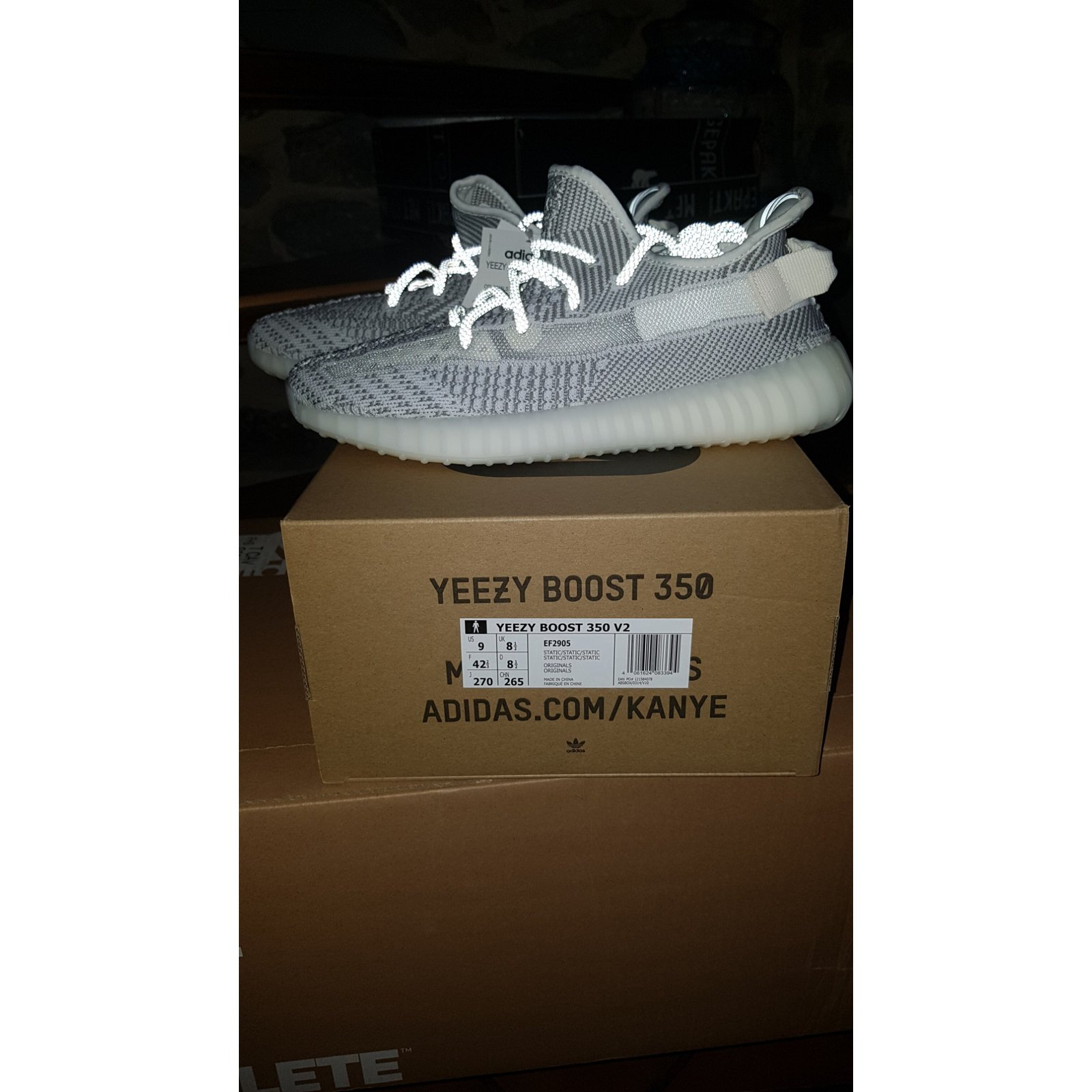 ADIDAS yeezy boost 350 V2 static Non Reflective