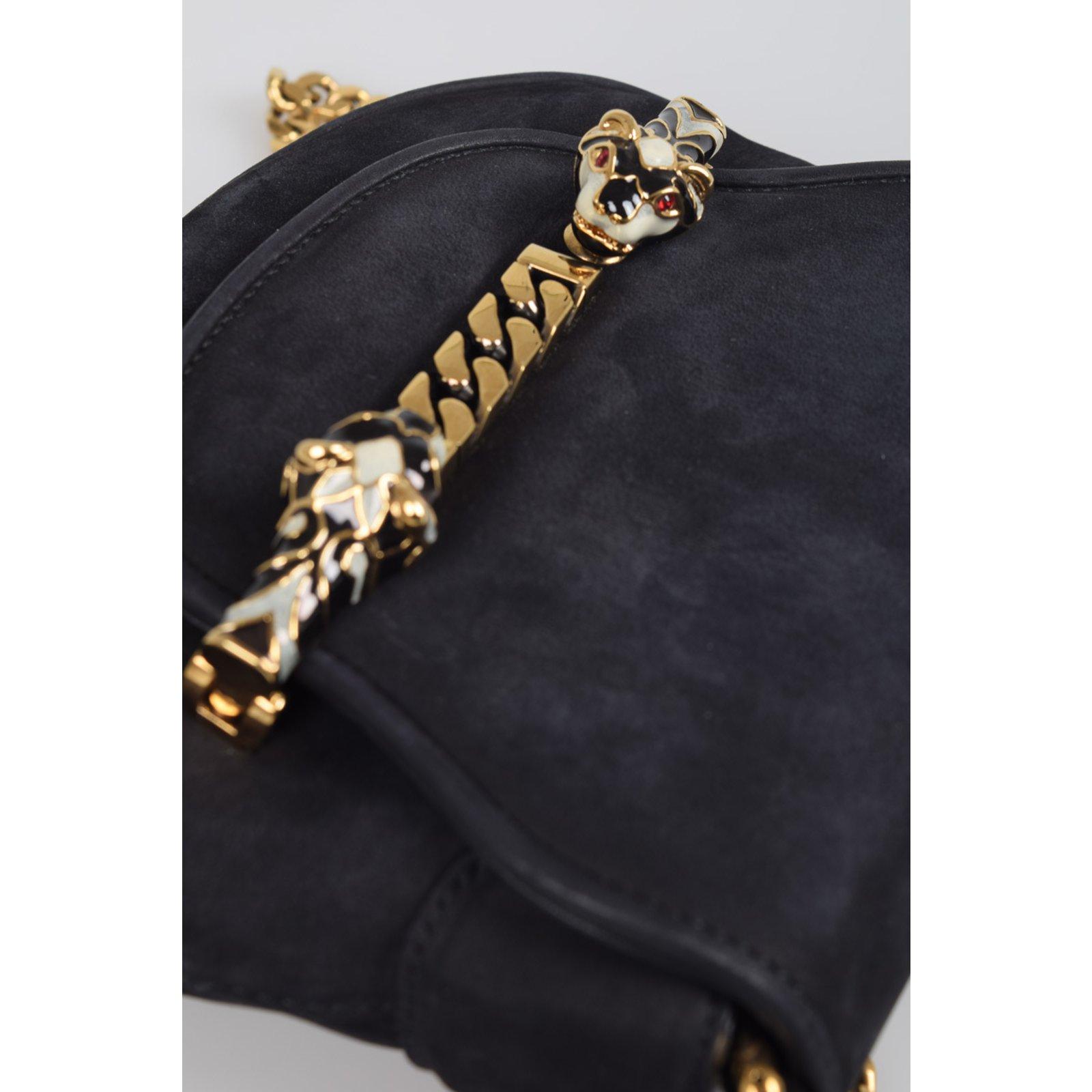 Sacs à main Gucci Sac Gucci nouveau Suede Bleu ref.100981 - Joli Closet f016897f8f617