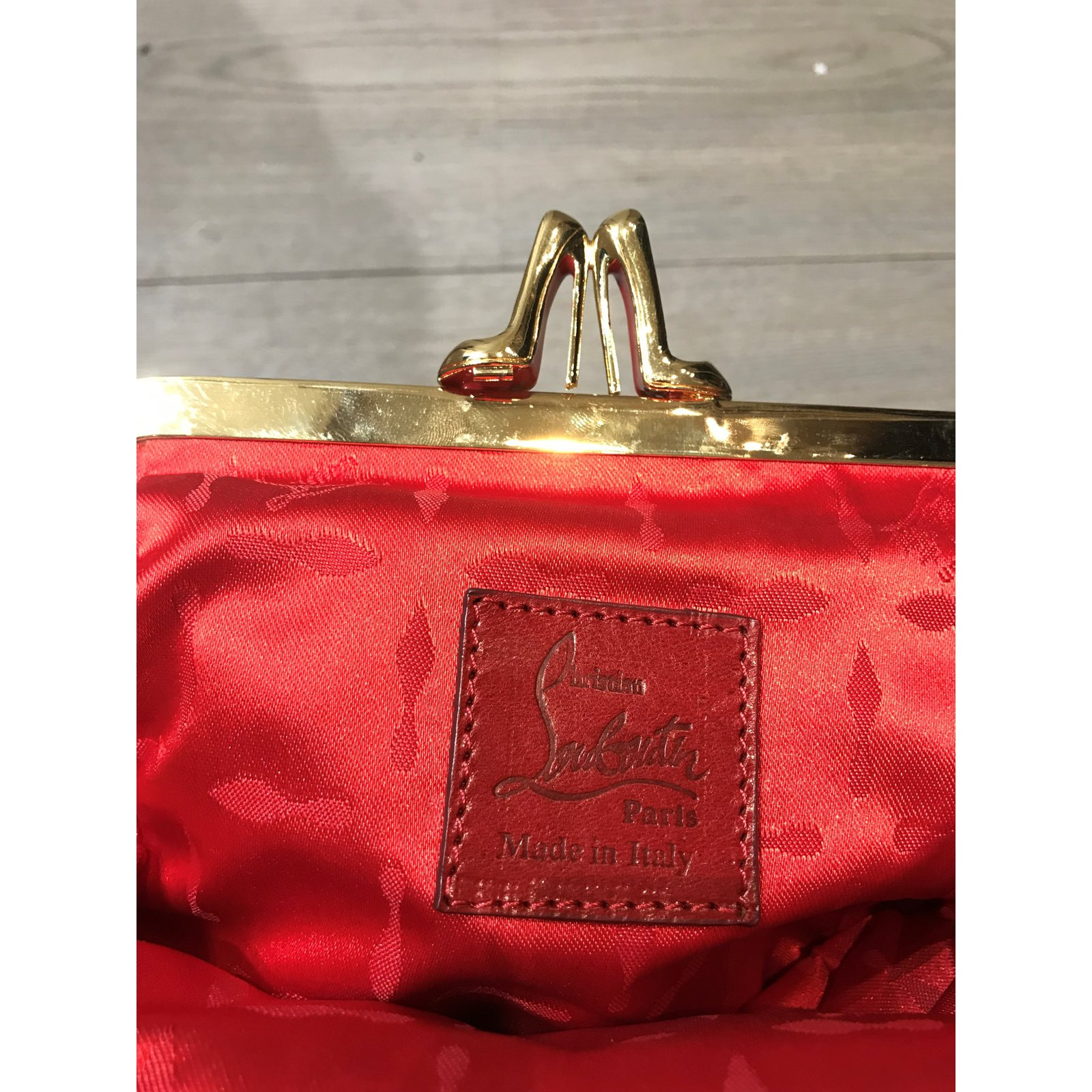 8b66bcb18 Christian Louboutin Handbags Handbags Satin Leopard print ref.101038 - Joli  Closet