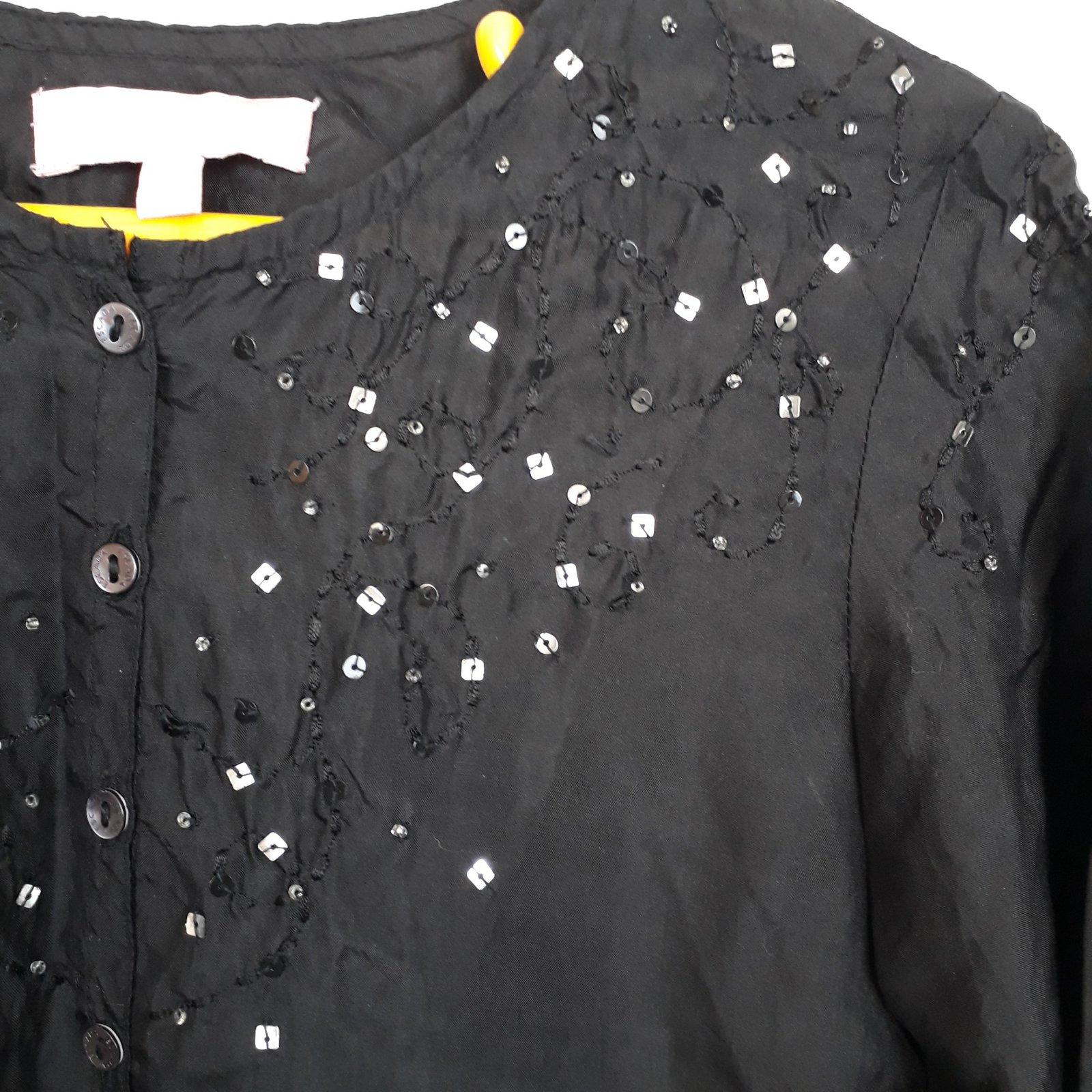 e45abc49e44ac Escada Escada Silk Blouse Size 8 YO Tops Tees Silk Black ref.101226 - Joli  Closet