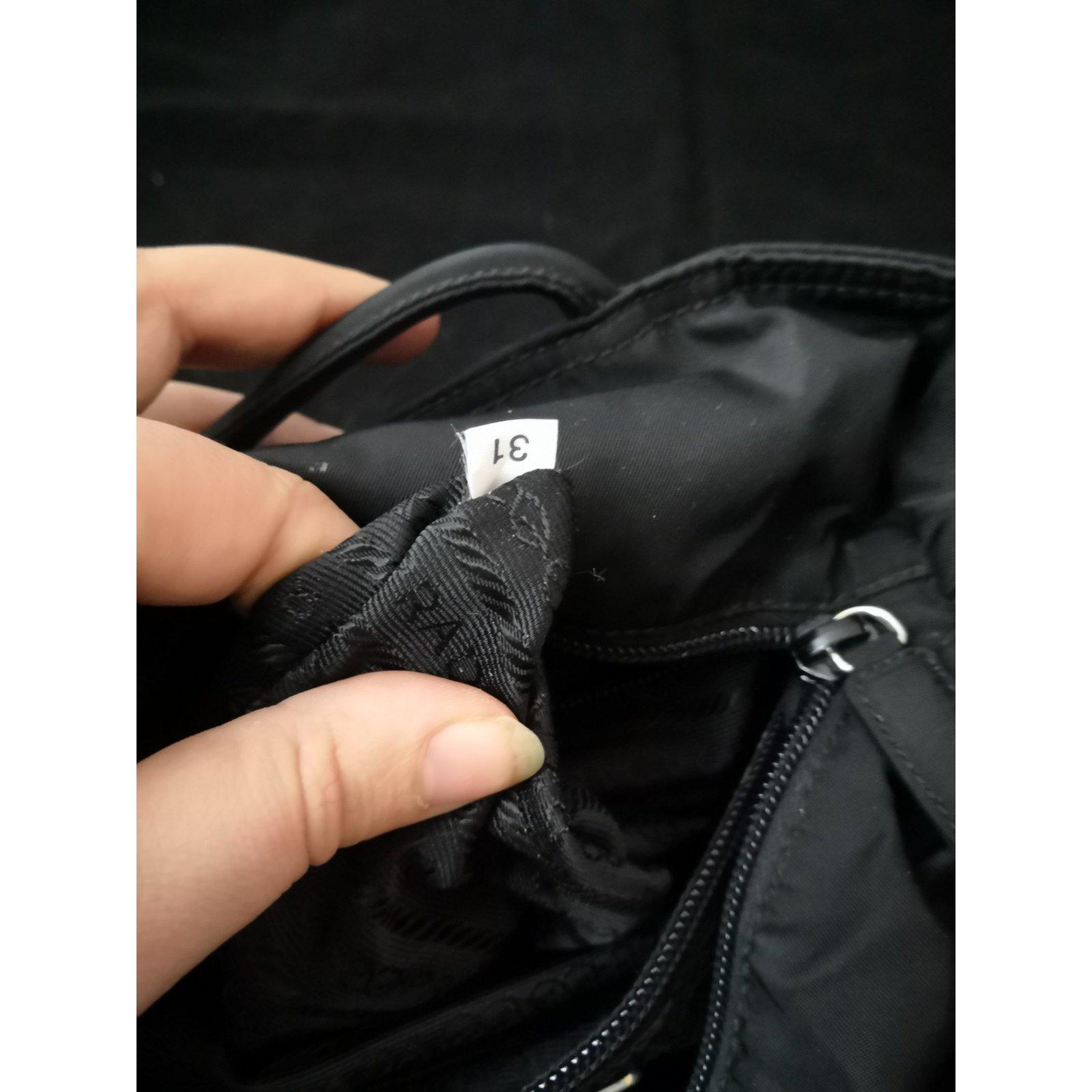 50fce19d1c Prada Beautiful vintage Prada bag Travel bag Polyester Black ref.101801 -  Joli Closet