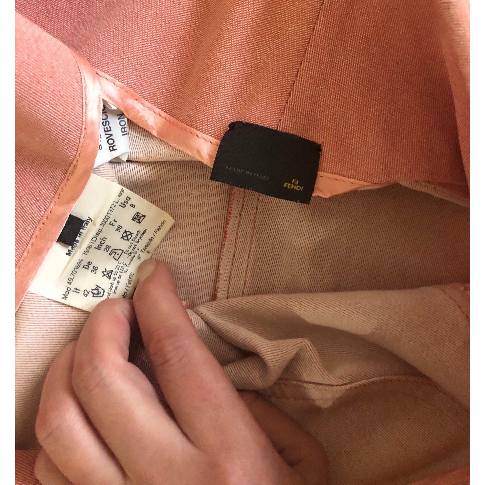 cfc55cecf9 Fendi Denim skirt Skirts Cotton Other ref.102438 - Joli Closet