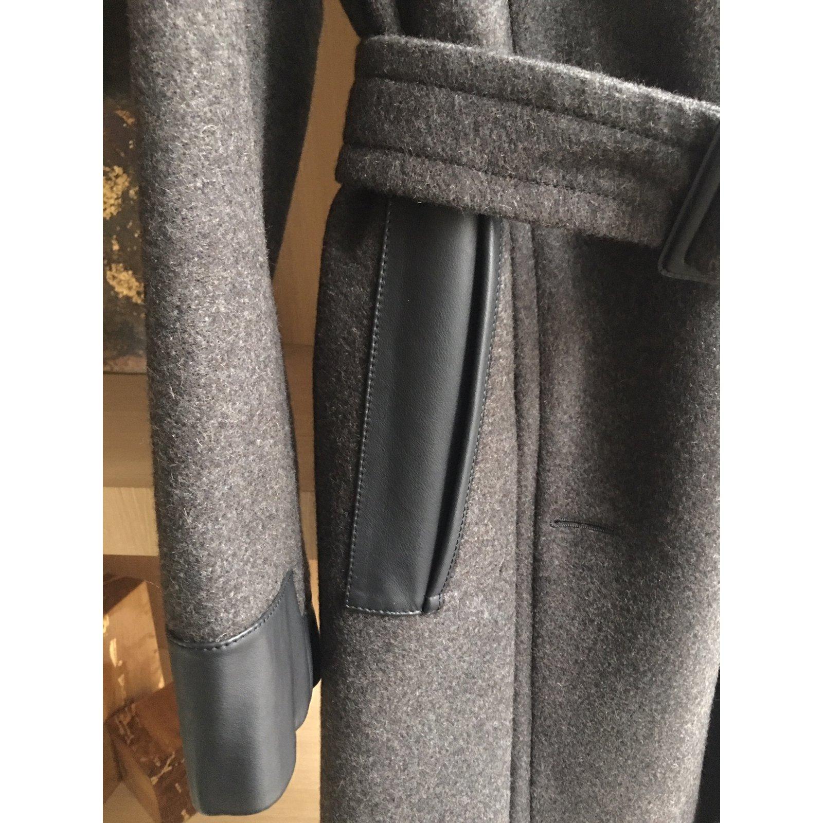 Manteaux homme Hermès Sublime manteau Hermès Couture laine