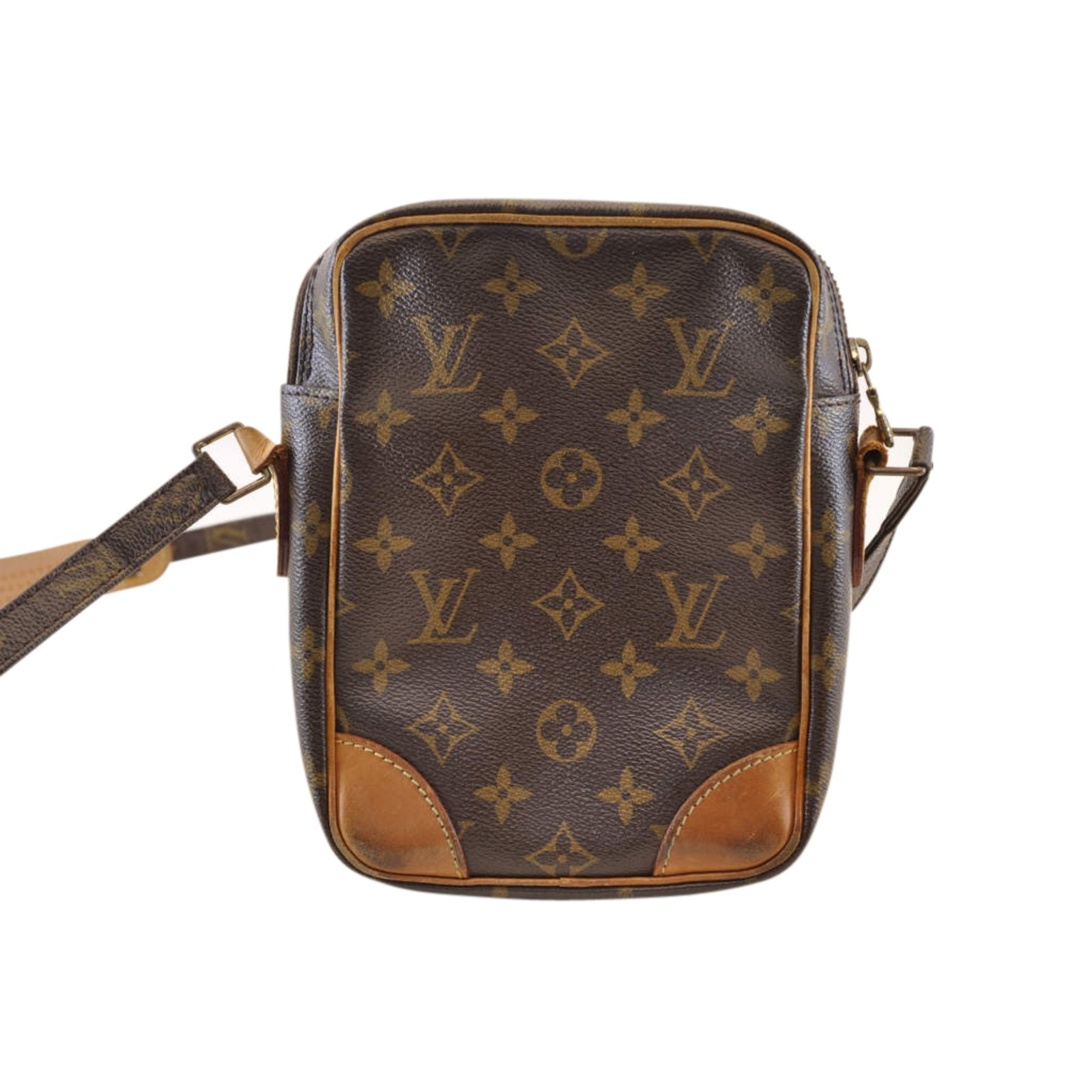 6d1328ba9283 Louis Vuitton Louis Vuitton Monogram Amazon Handbags Cloth Brown ref.103627  - Joli Closet