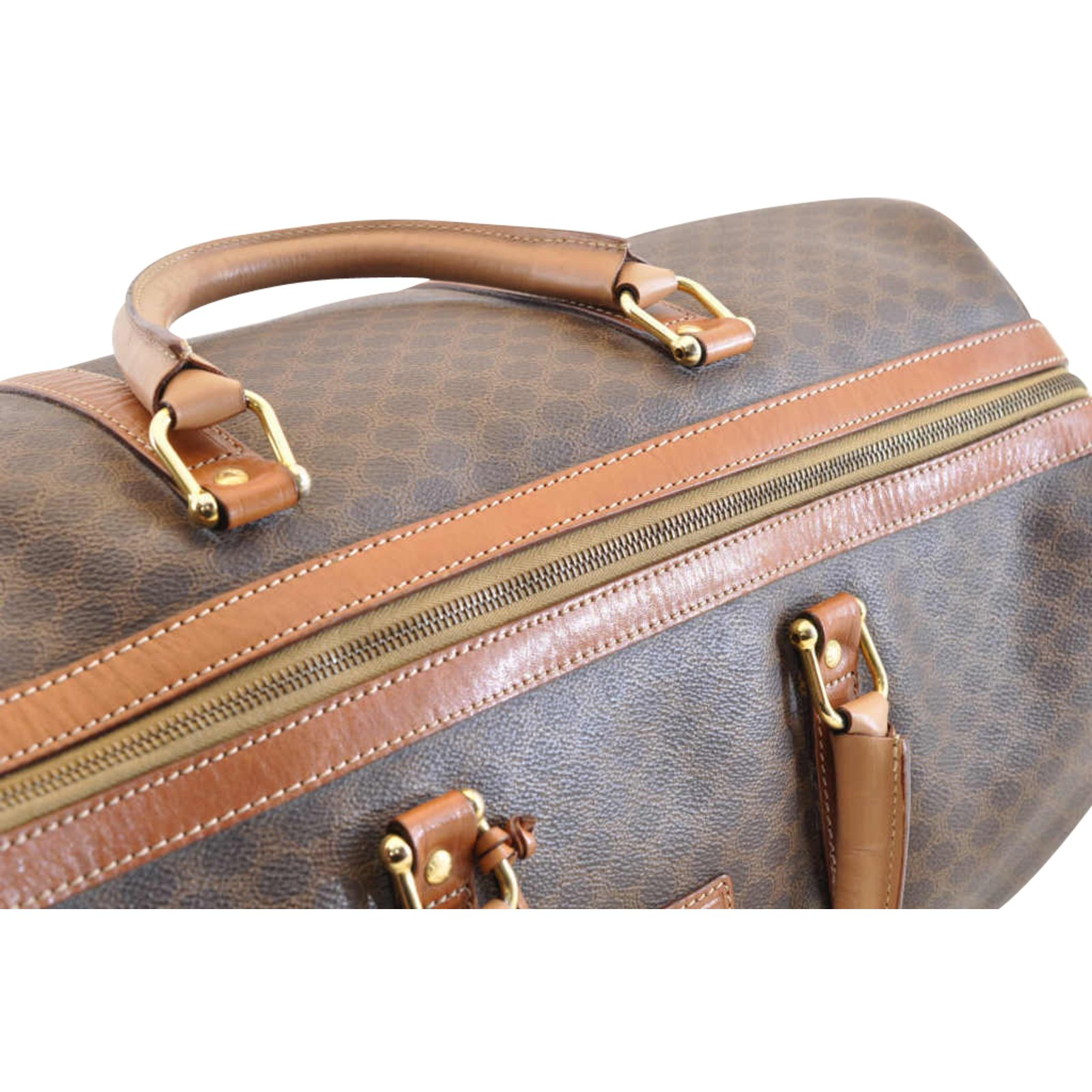 e8f10b829554 Facebook · Pin This. Céline Celine Boston Bag Handbags Other Brown ref. 104304