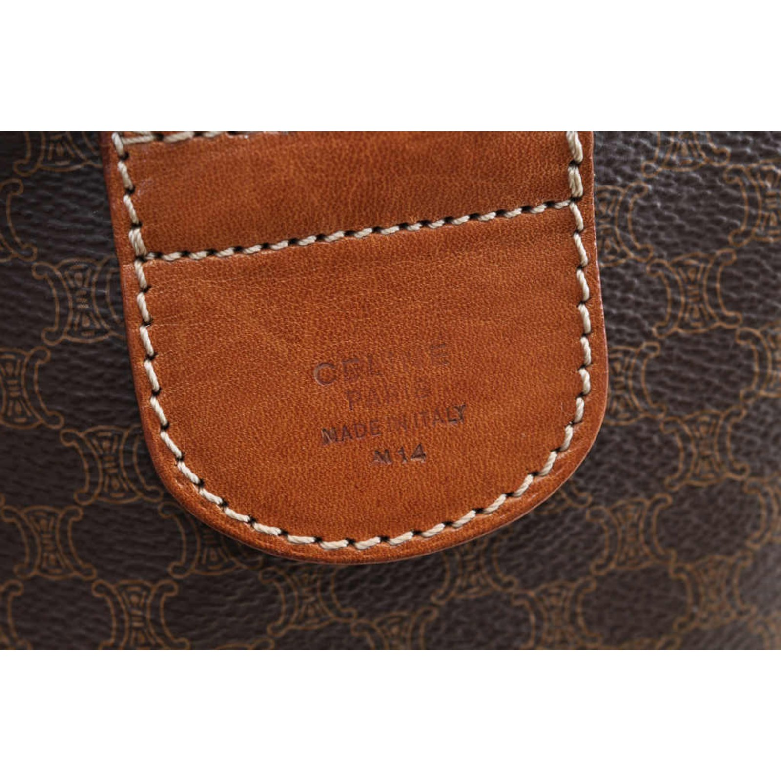70a4dbda3f40 Céline Celine Boston Bag Handbags Other Brown ref.104304 - Joli Closet
