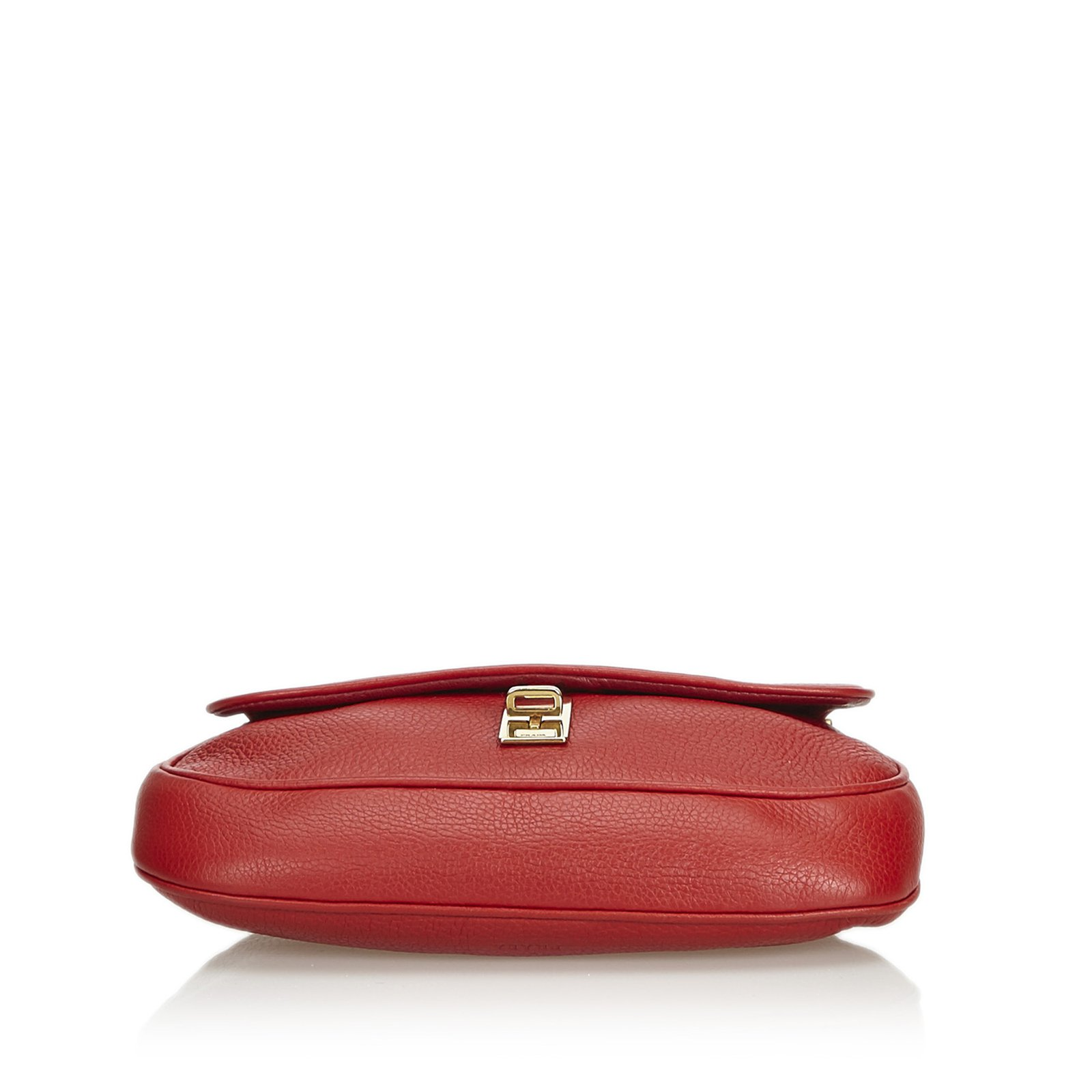 0a3f4ae4fd21 Facebook · Pin This. Prada Leather Chain Baguette ...