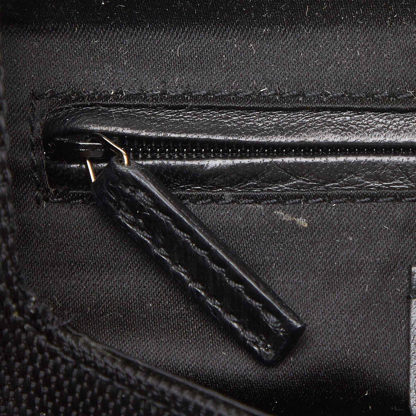 48134adfc3 Yves Saint Laurent Rive Gauche Jacquard Shoulder Bag Handbags Leather