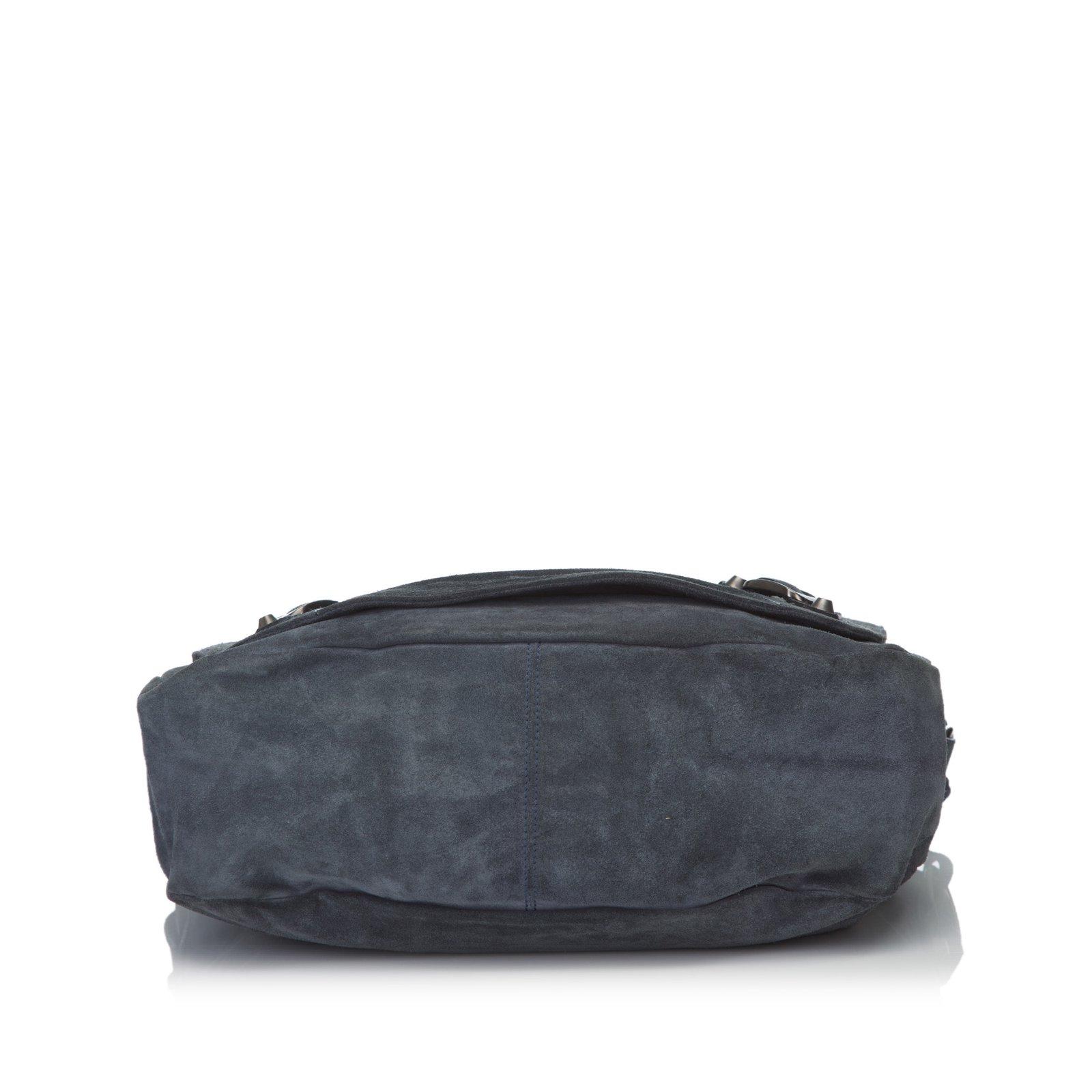3988e00224cf Balenciaga Motocross Classic Suede Folk Messenger Bag Handbags Suede ...