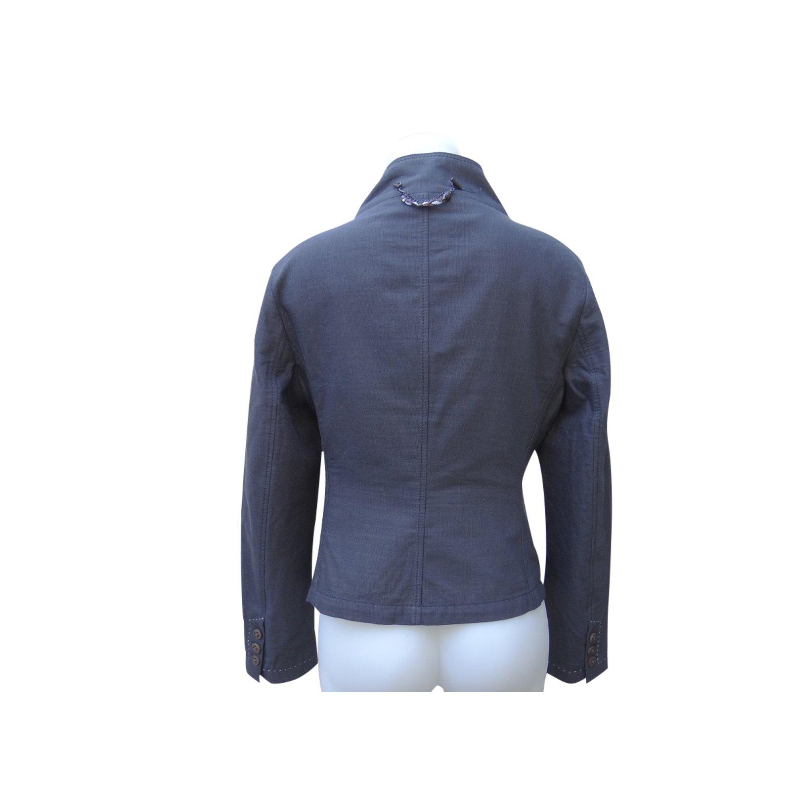 79415a55d Hugo Boss Jackets Jackets Cotton Grey ref.99911 - Joli Closet