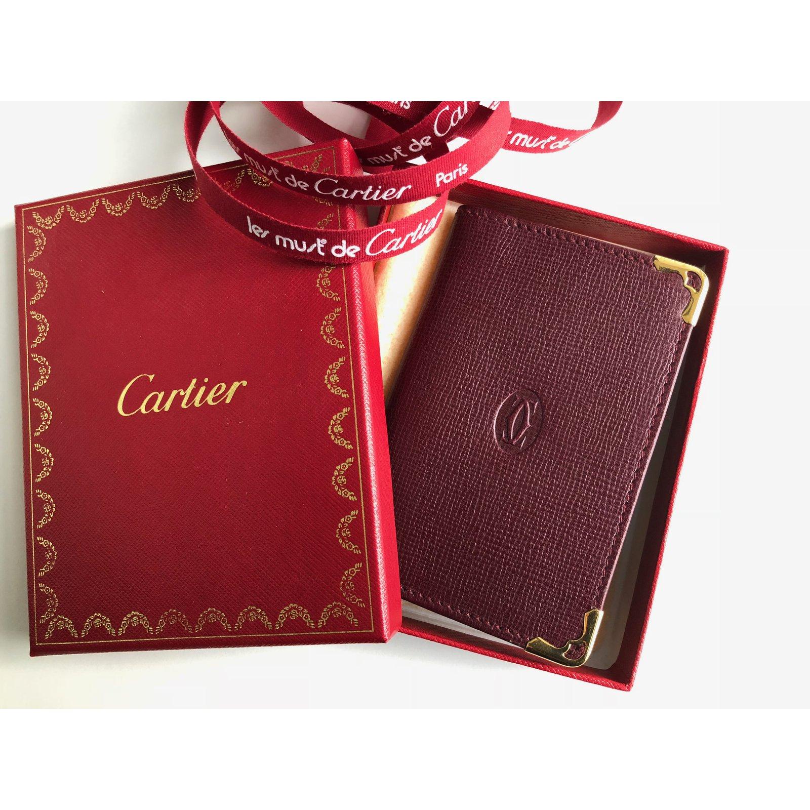 Cartier Cartier Visitenkartenhalter Geldbörsen Geldtaschen