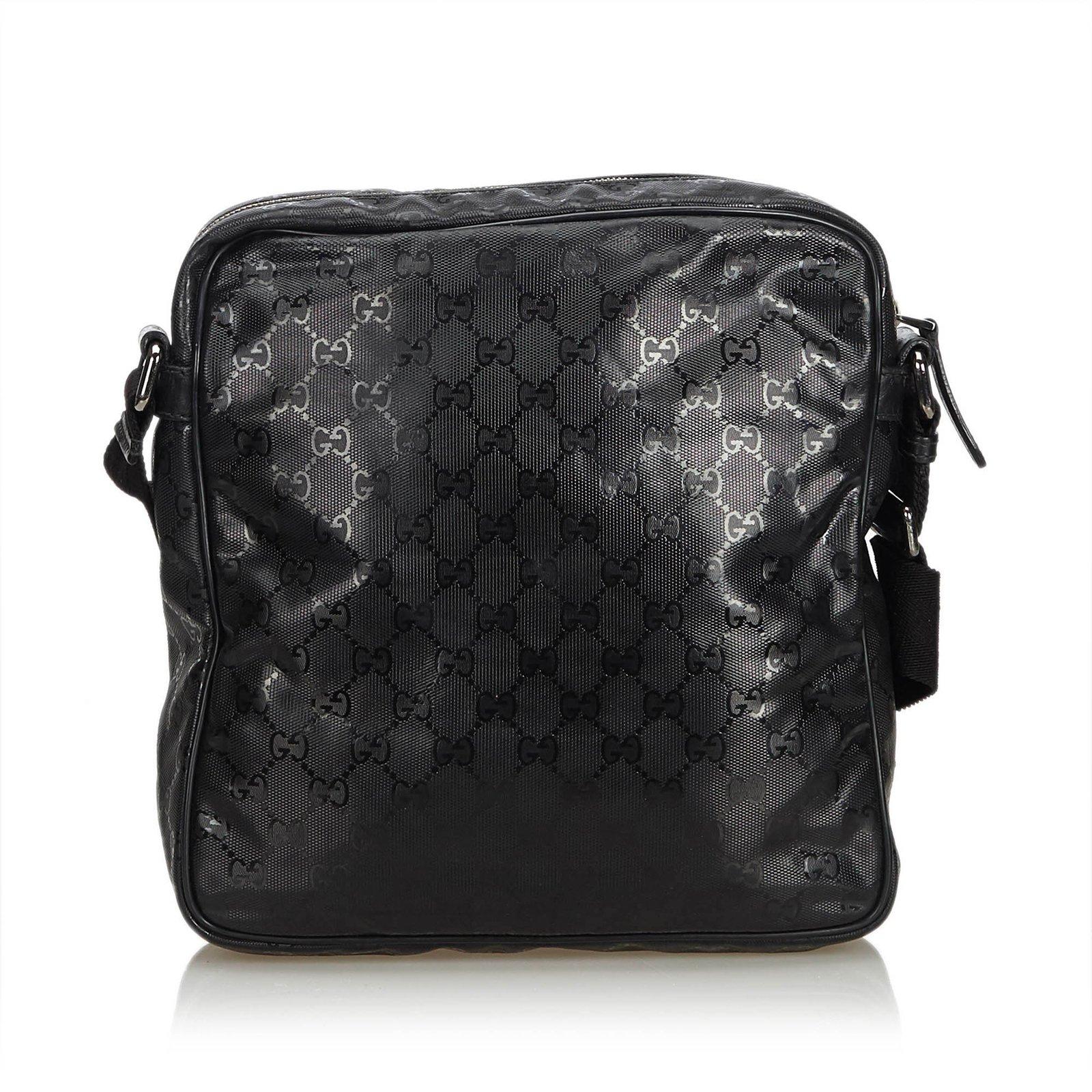 e9b19b36031f Gucci GG Imprime Messenger Bag Handbags Leather,Other,Plastic Black ...