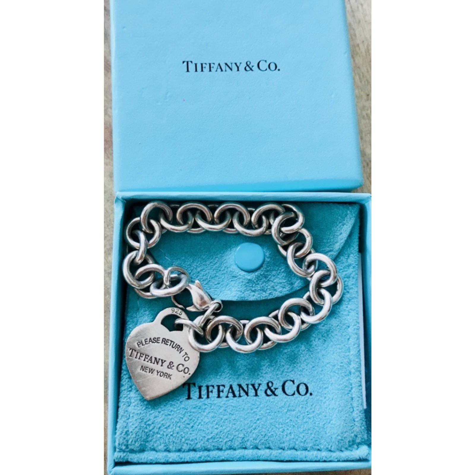 d61c1fc47 Tiffany & Co Return to Tiffany Bracelets Silver Metallic ref.106147 - Joli  Closet