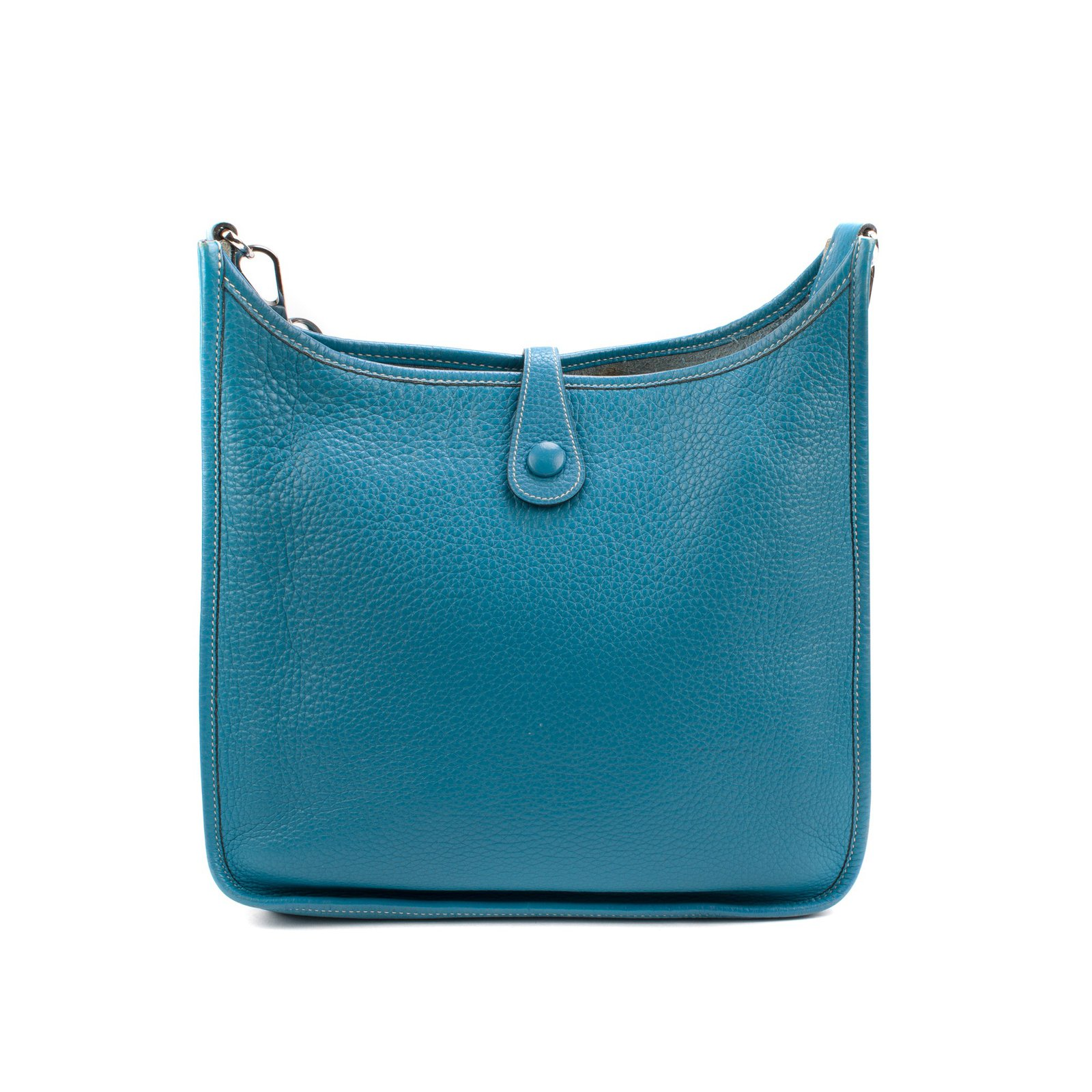 5db873c8e271 Hermès Hermès Evelyne bag in blue clemency taurillon in very good ...