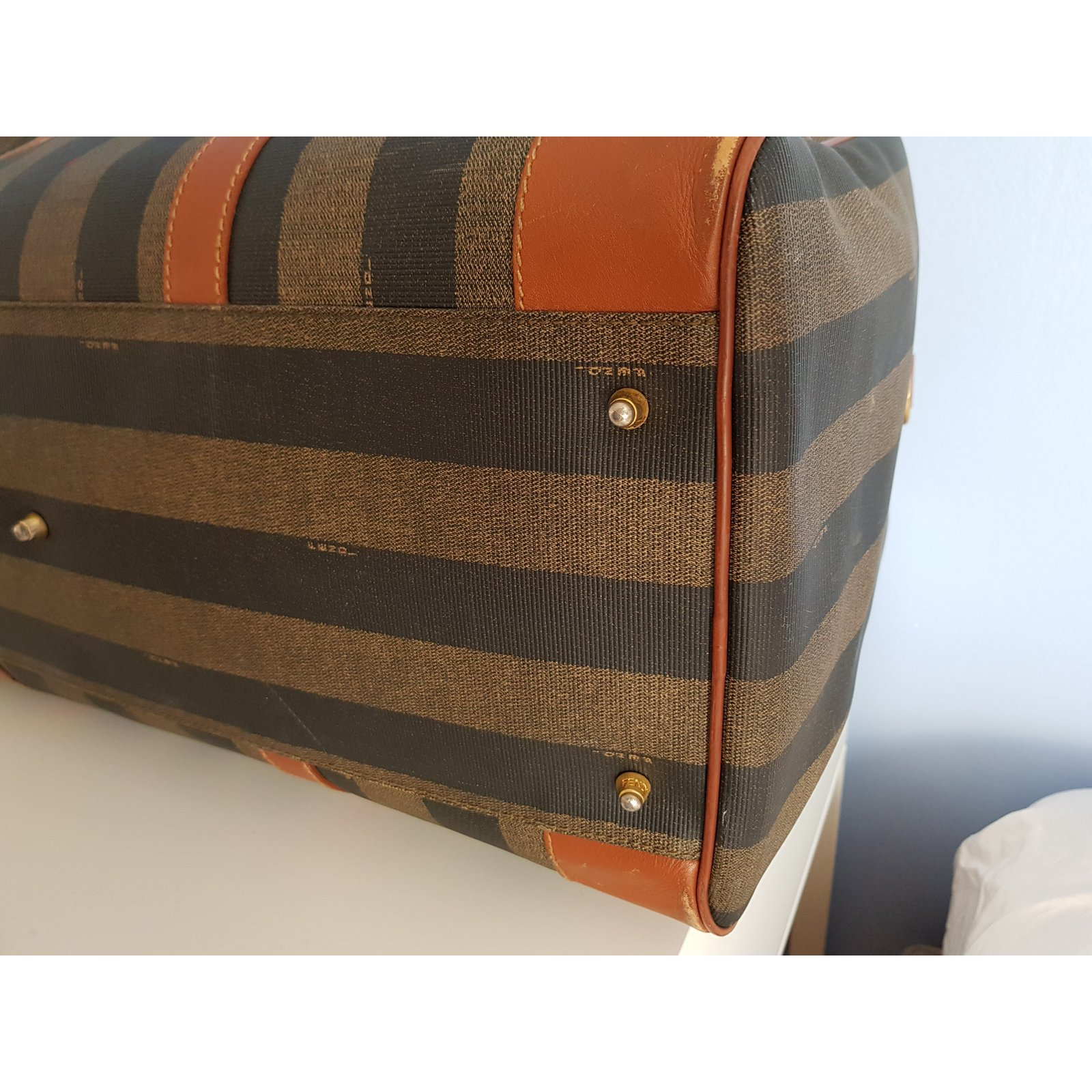 ... Travel bag Fendi · Facebook · Pin This. Fendi fendi pequin large ... de9d65a48043a