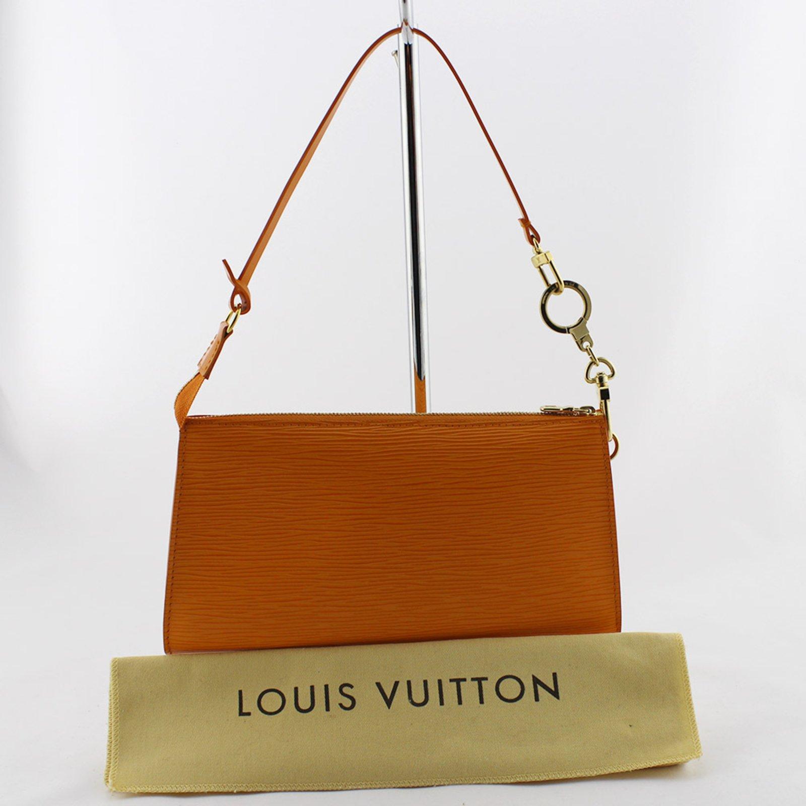 f841c435bf68 Louis Vuitton NM Accessories Pouch Wallets Leather Orange ref.107610 - Joli  Closet