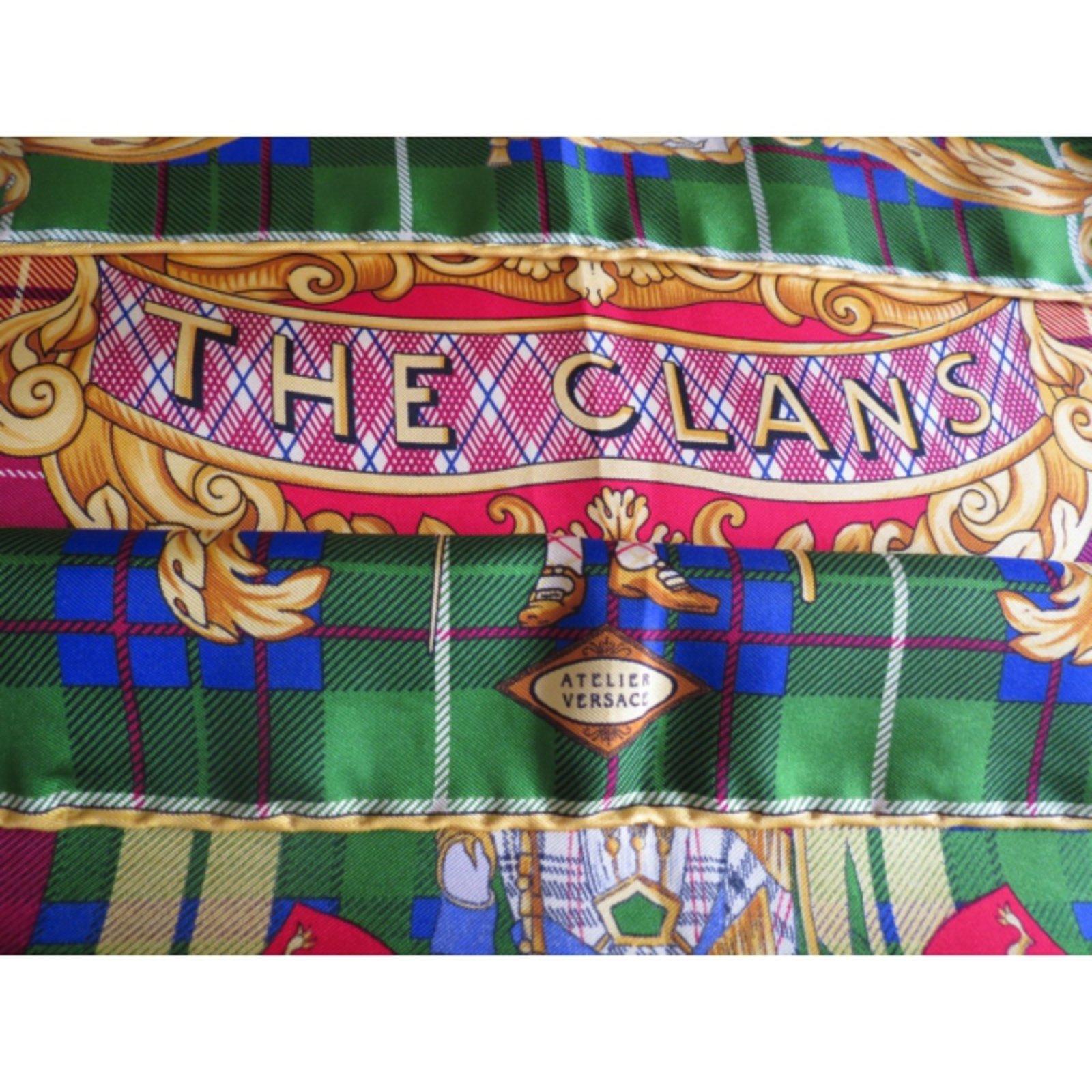 6cba8599 -Malta silk scarf Atelier Versace