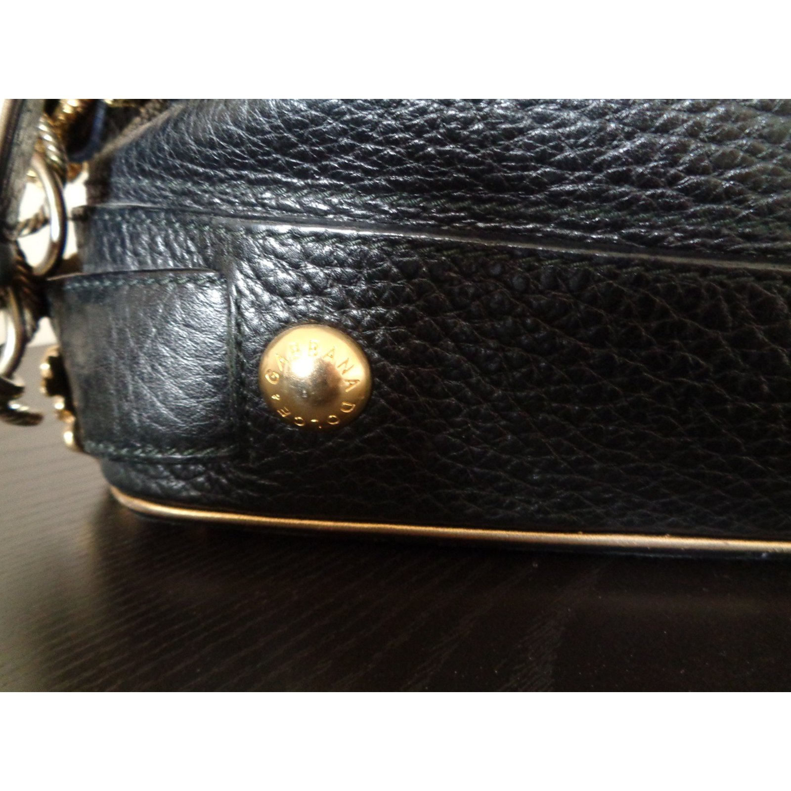 Dolce   Gabbana Handbags Handbags Leather Black ref.108301 - Joli Closet b0c6acf5a9750