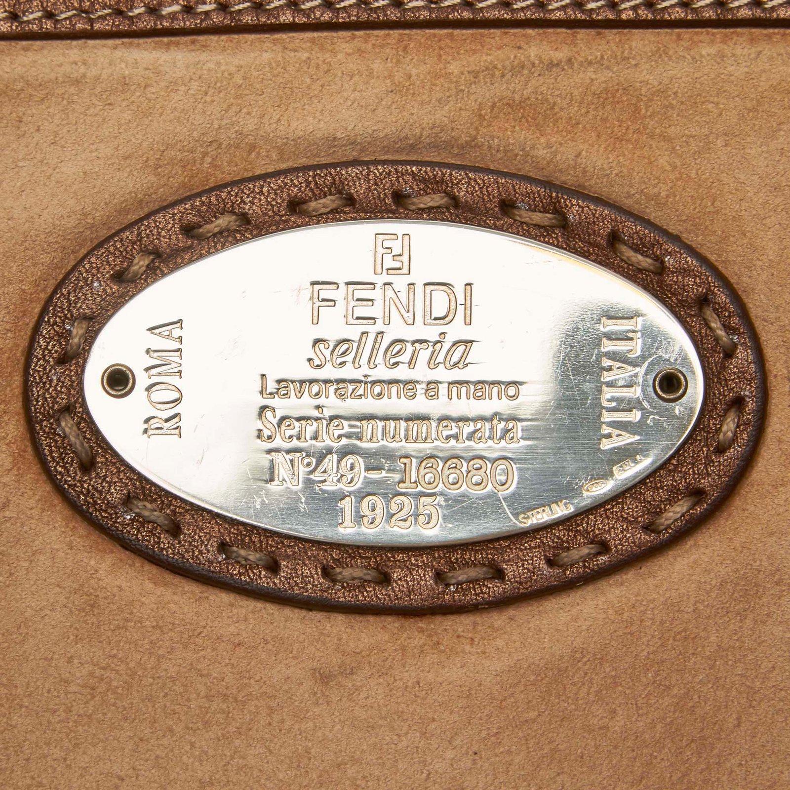 8b98d1f67a11 ... Women s bags Fendi · Totes Fendi · Facebook · Pin This. Fendi Selleria  Leather ...