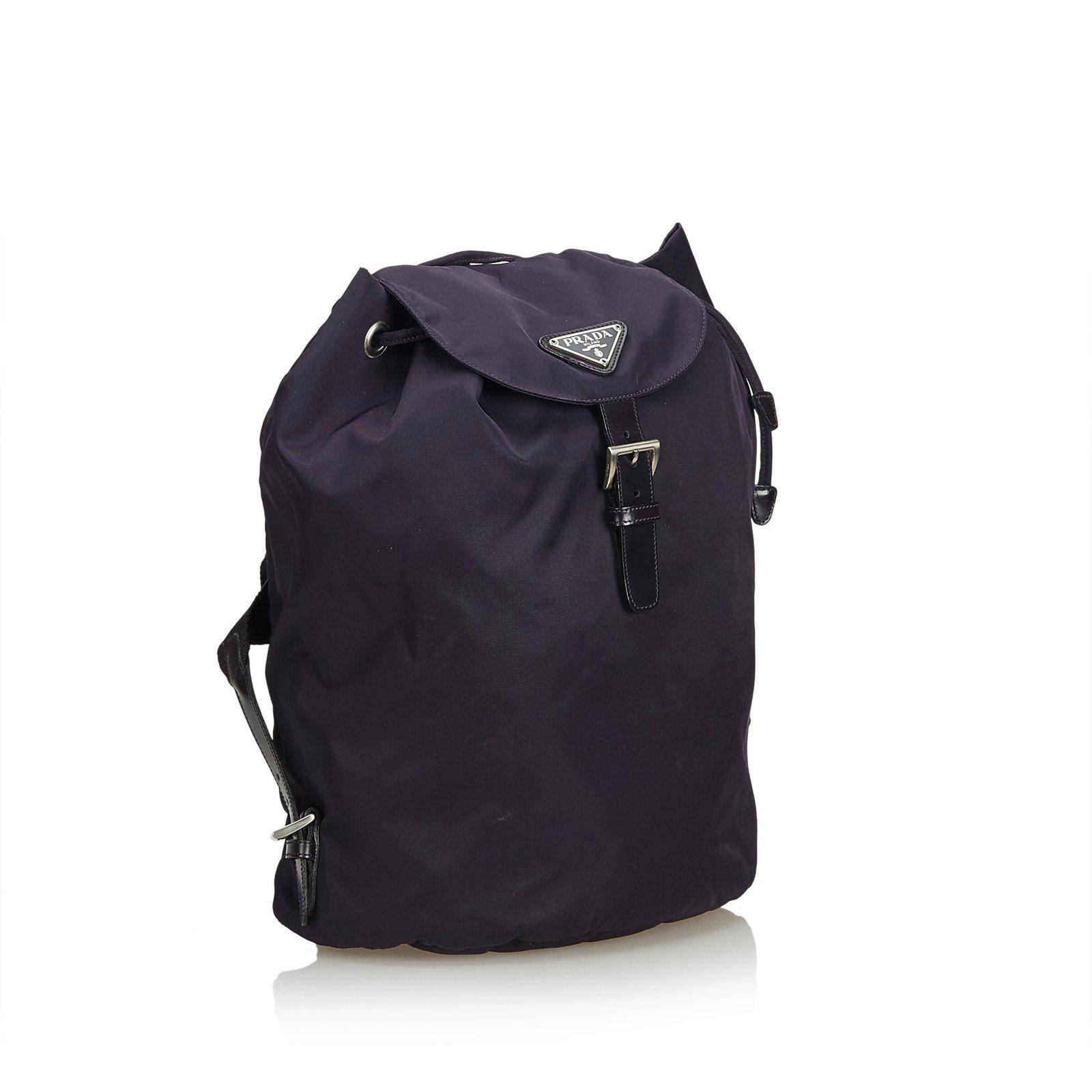 606f707c78a2 Prada Nylon Drawstring Backpack Backpacks Nylon